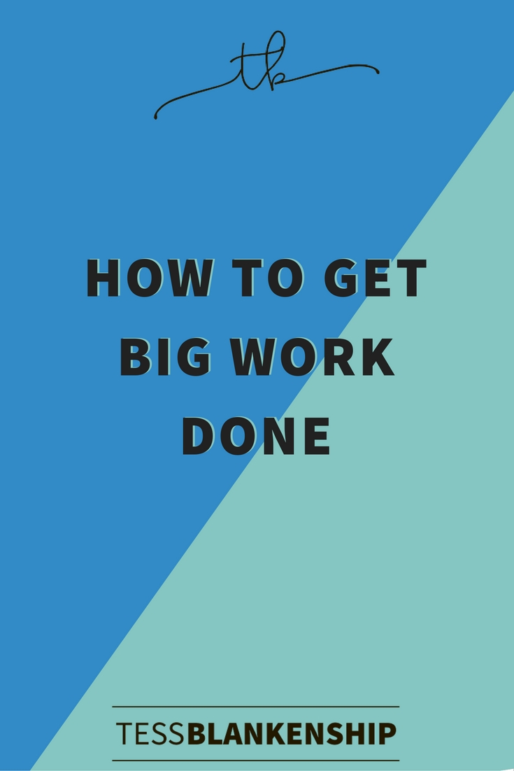 Alright, it's time to talk productivity and how to get big work done by outsourcing to your team.