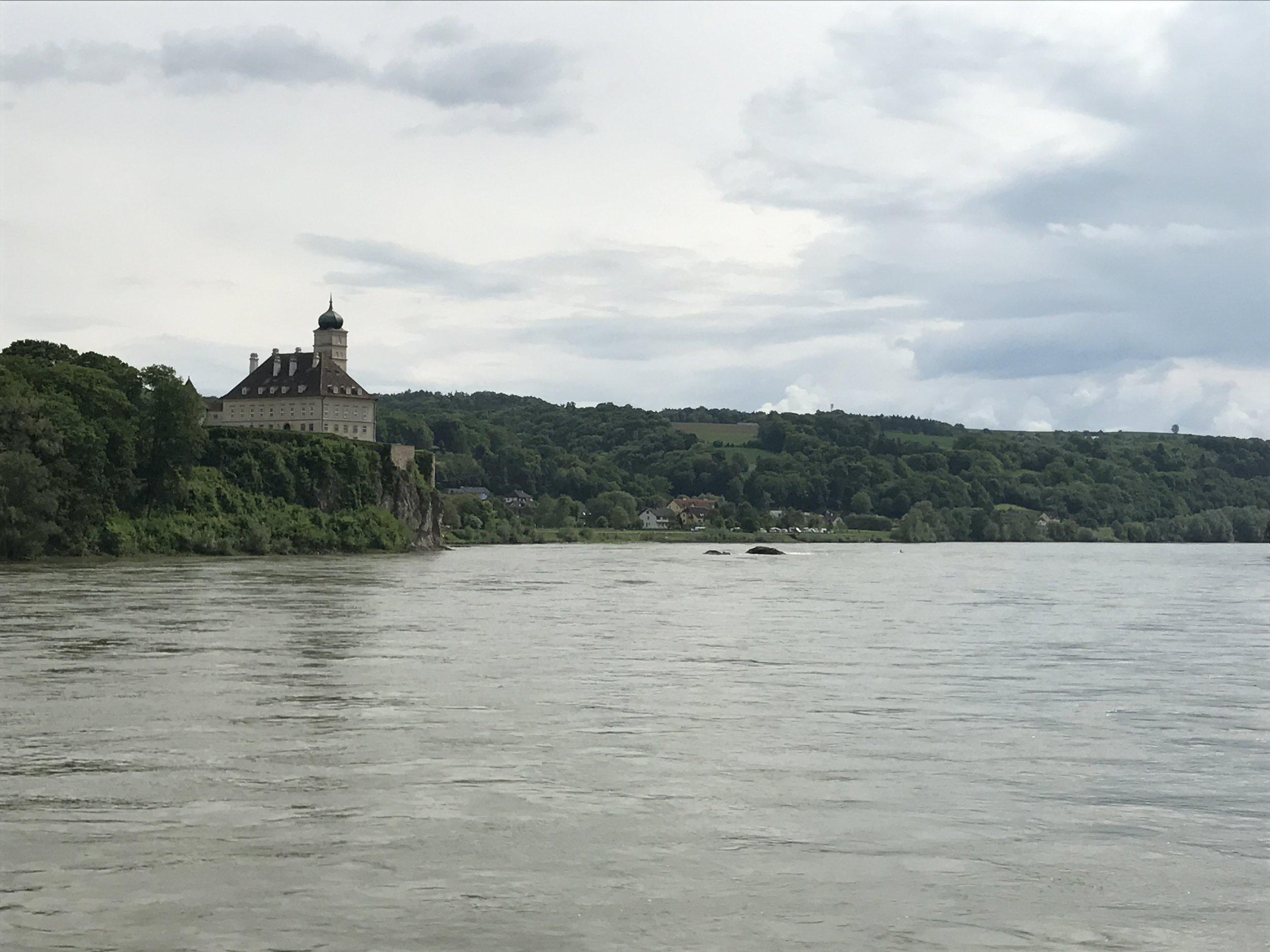 Somewhere on the Danube near Krems...