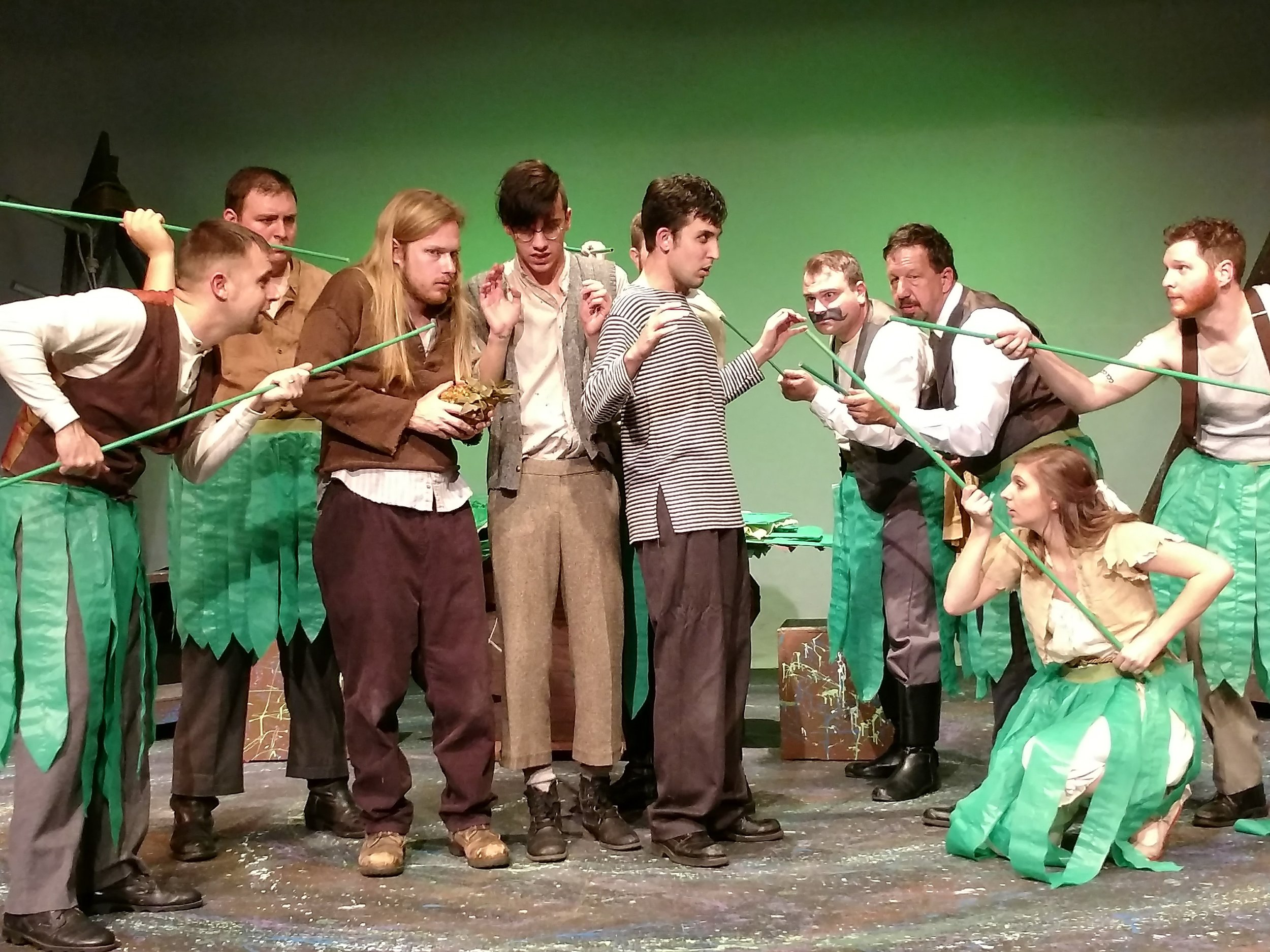 Peter & the Starcatcher , Newnan Theatre Company, Mar 1–11