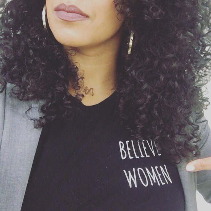 She rocked our tee, too.
