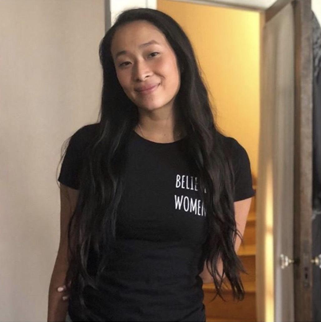 Black Believe Women Shirt    (worn by writer Nadya Okamato,    @nadyaokamoto)