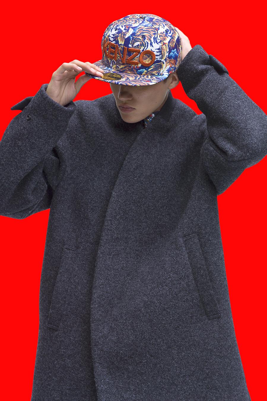 Kenzo x New Era   for  Kenzo Paris