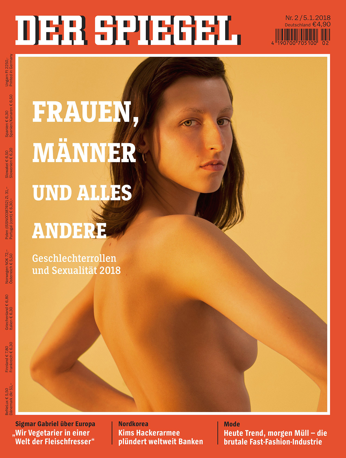 Freddy   for  Der Spiegel