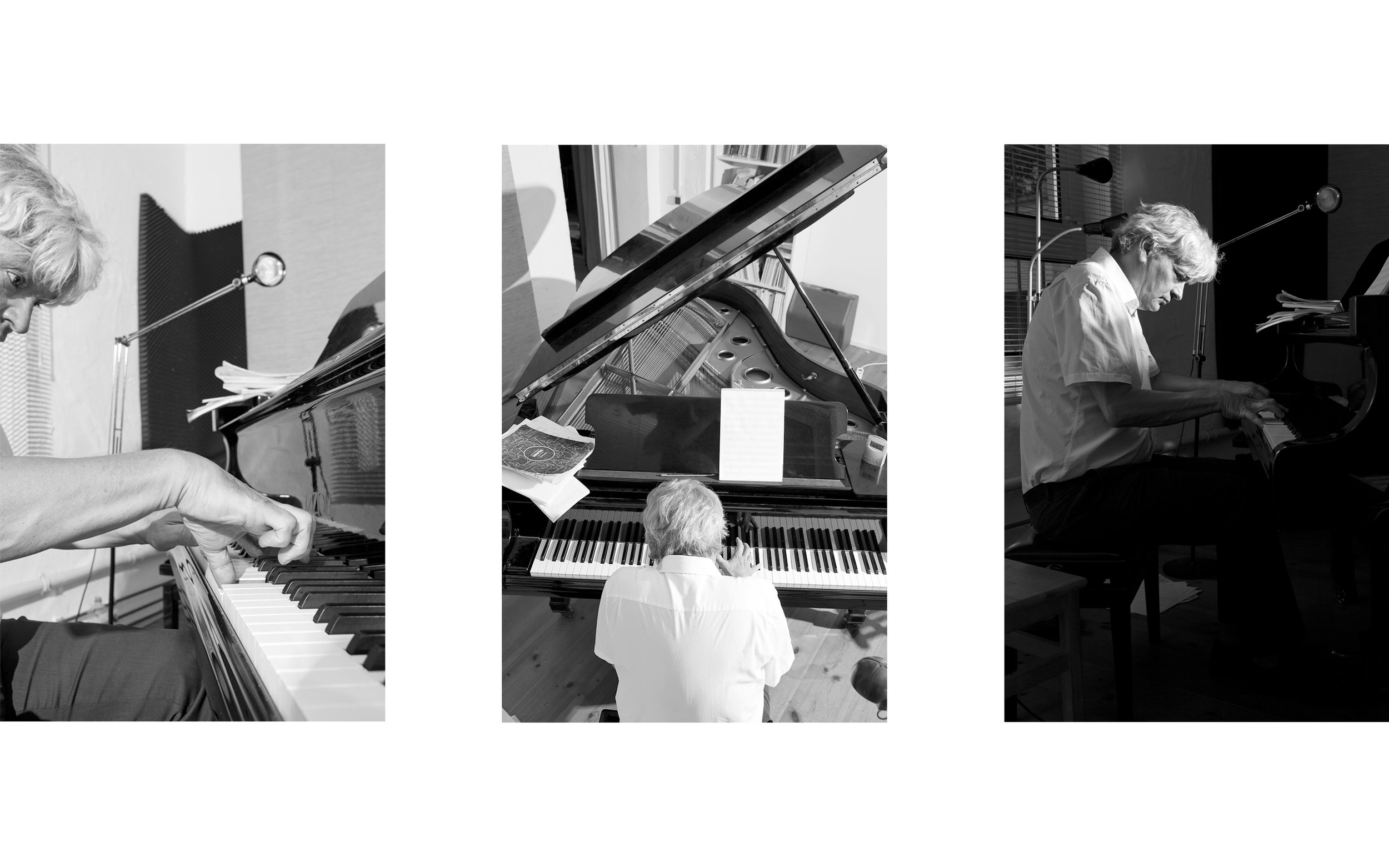 Tomas Bächli   pianist and author  for  Republik