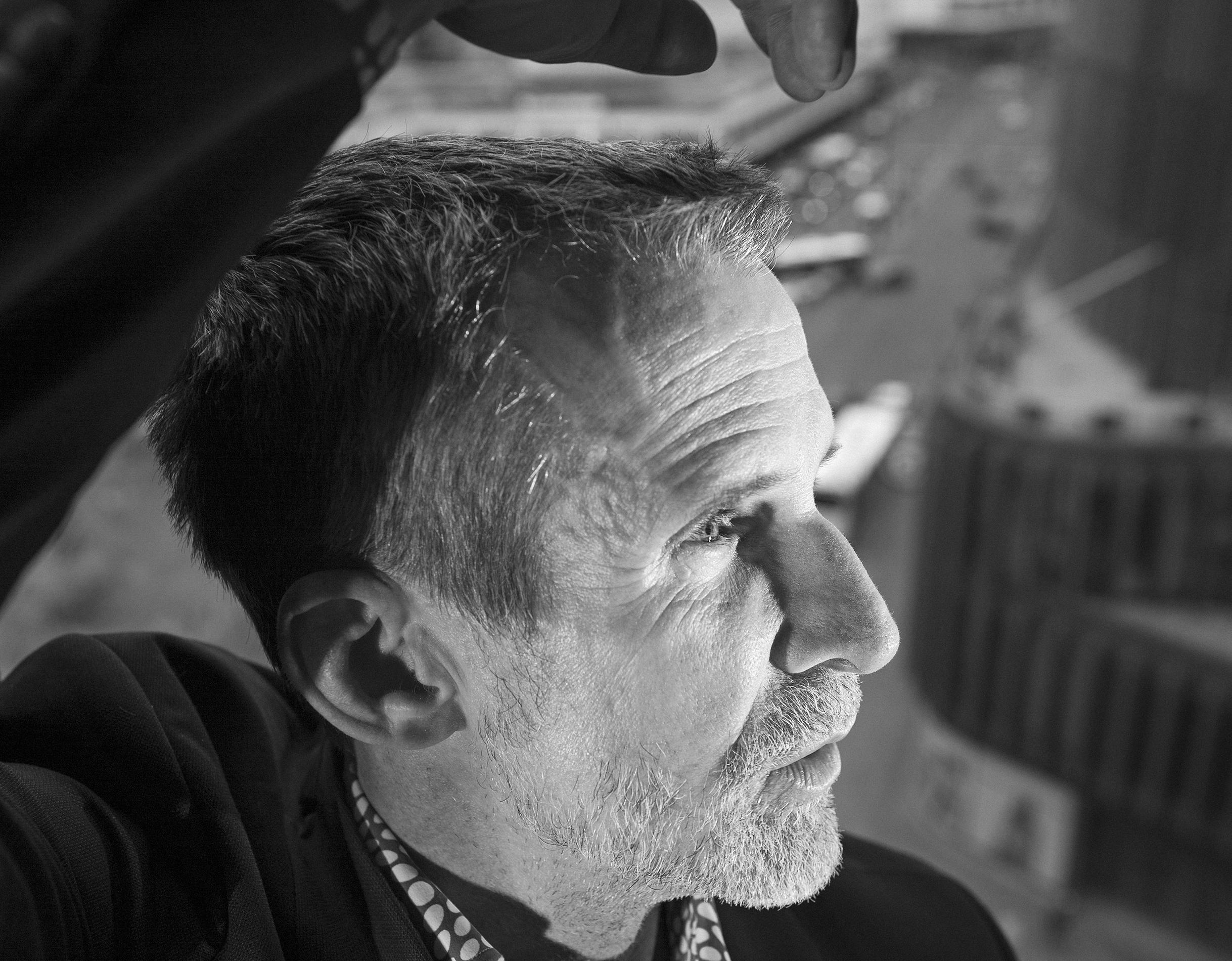 Ulrich Matthes   actor and president of Deutsche Filmakademie  Ich habe einen Traum for  Zeit Magazin