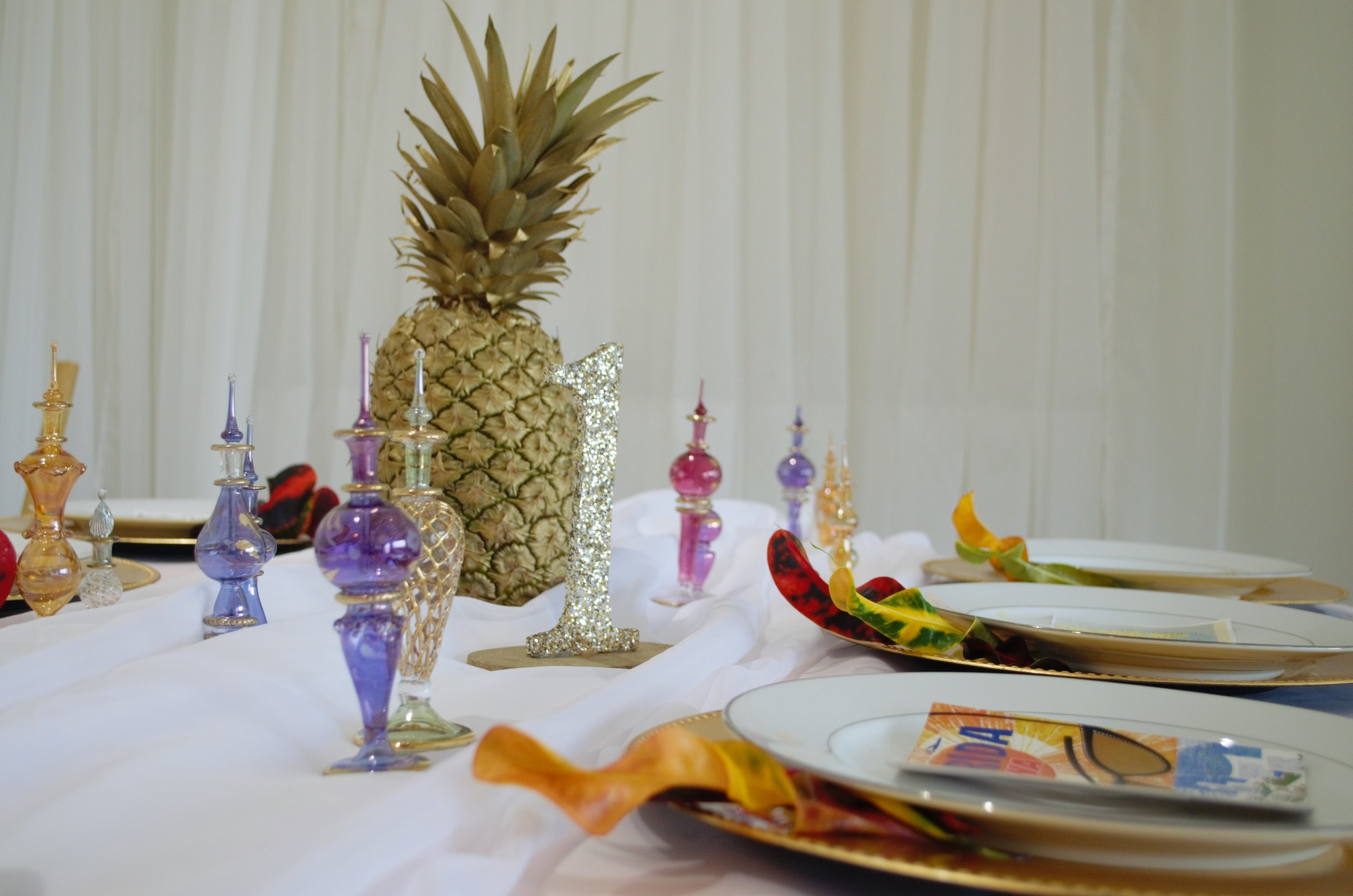 New Centerpiece Ideas from Caribbean Catering!