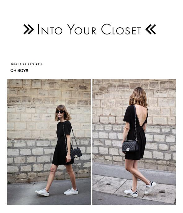 Into Your Closet Blog