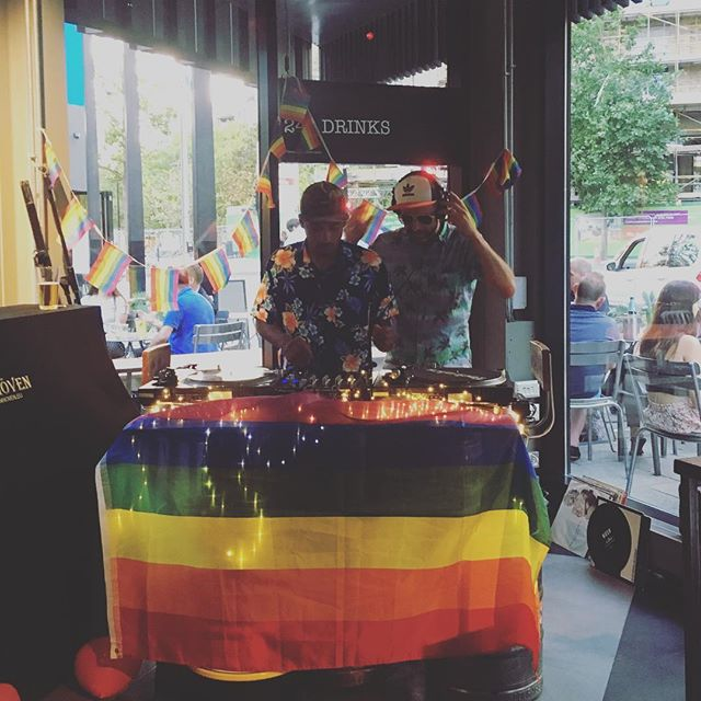 Pride Party tonight... come on down for a disco dance and pink gin #Pride #London #eastvillage #e20 #disco #house #dancing #cocktails #drinks #goodtimes #friday #dontmissaparty #stratford #colourfulpeople