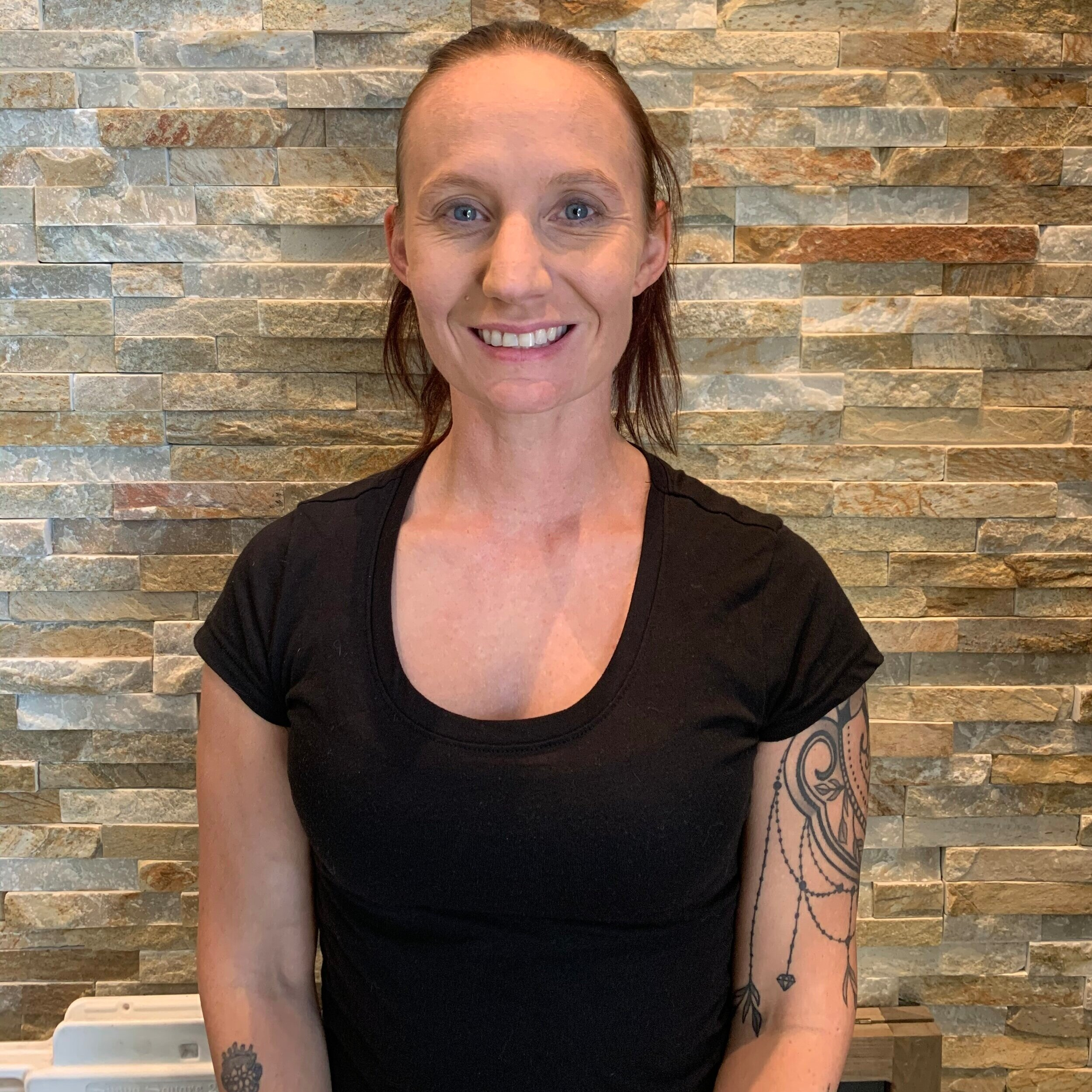 Cheyenne - Certified TherapistCheyenne is a holistic health practitioner that aims to customize every massage to the clients needs. She specializes in passive joint movement, sports therapy, and orthopedic massage to help active people stay active! She also works with geriatric to help keep the body in motion. Cheyenne aims to have every client walking out with a smile.