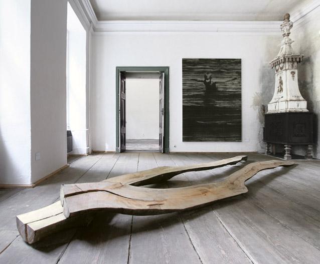 XXII. Rohkunstbau .Installationsansicht . Arbeiten von Arne Schreiber . Courtesy Arne Schreiber und Galerie koal/Berlin .