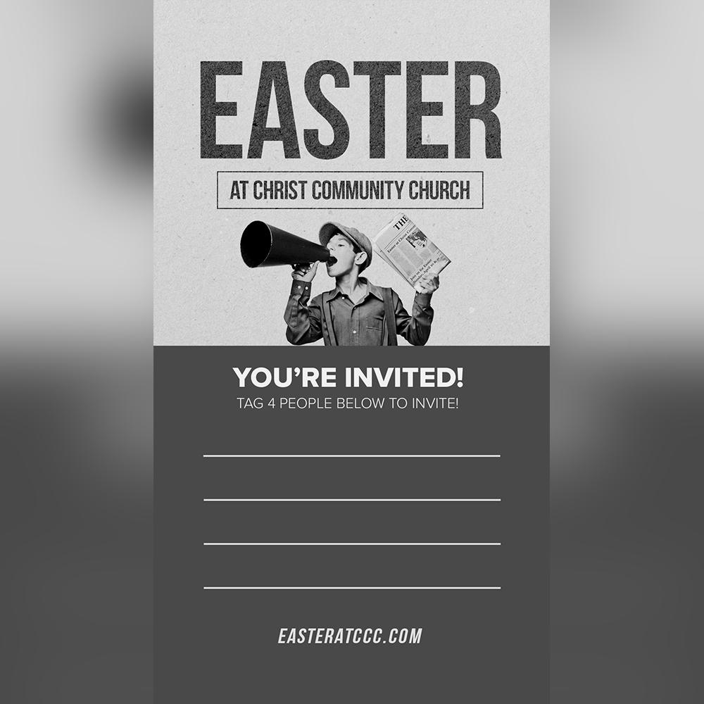 Instagram Story Invite
