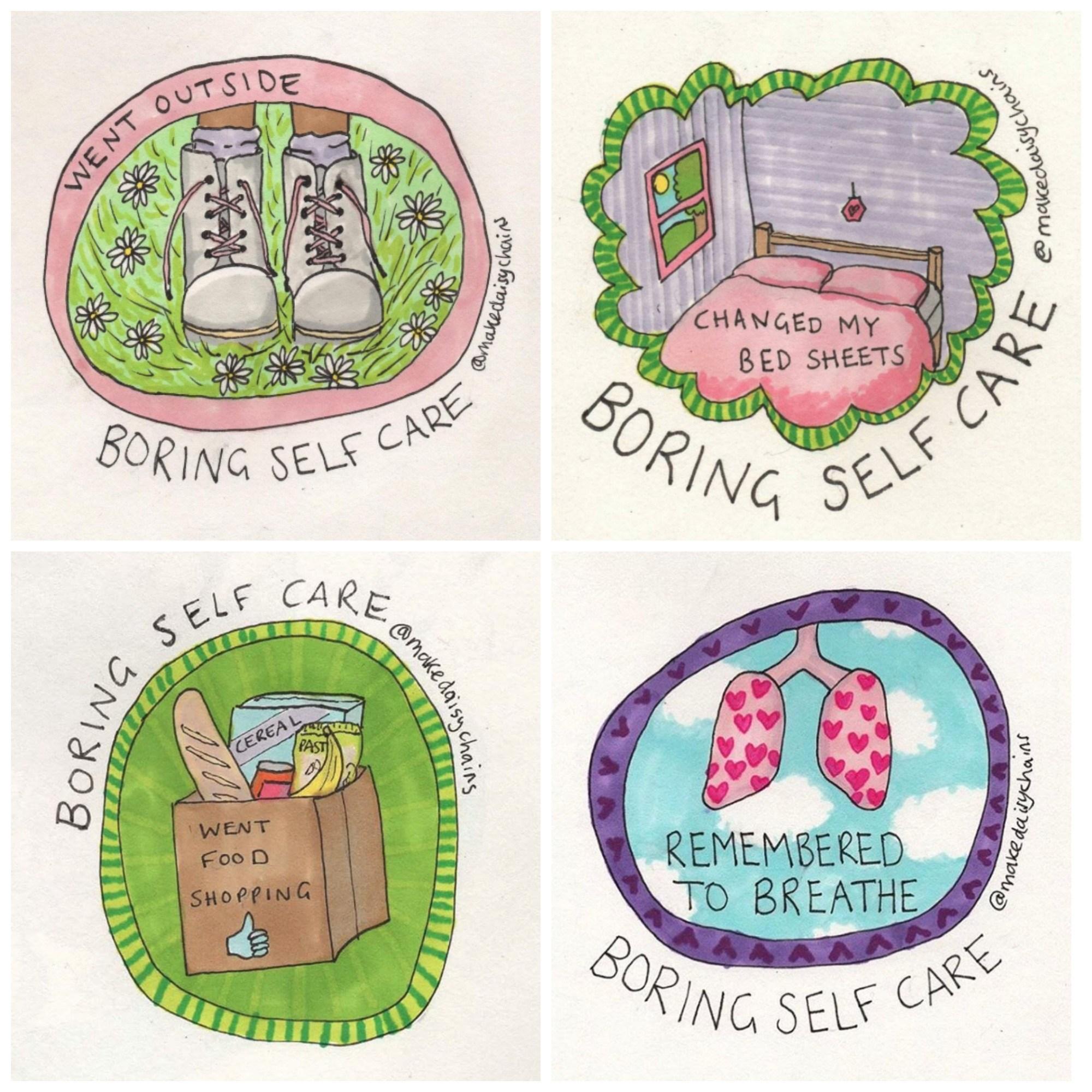Illustrations by Hannah Daisy: http://www.hannahdaisy.com/