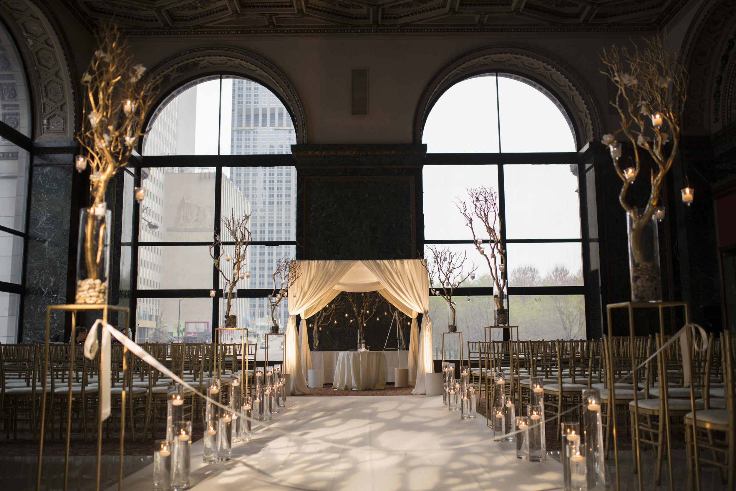 Big City Bride Wedding at Chicago Cultural Center