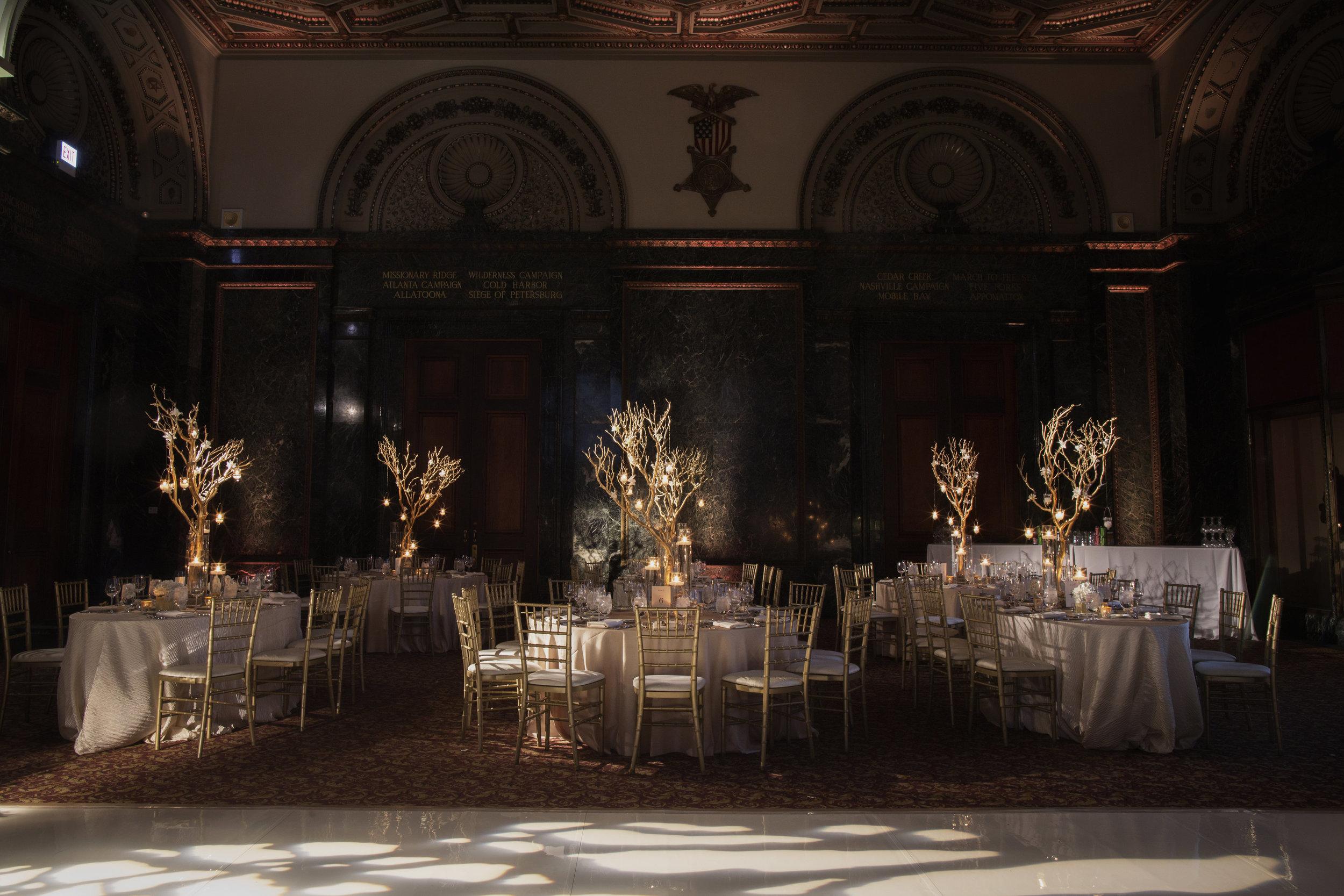 Wedding Reception by Big City Bride