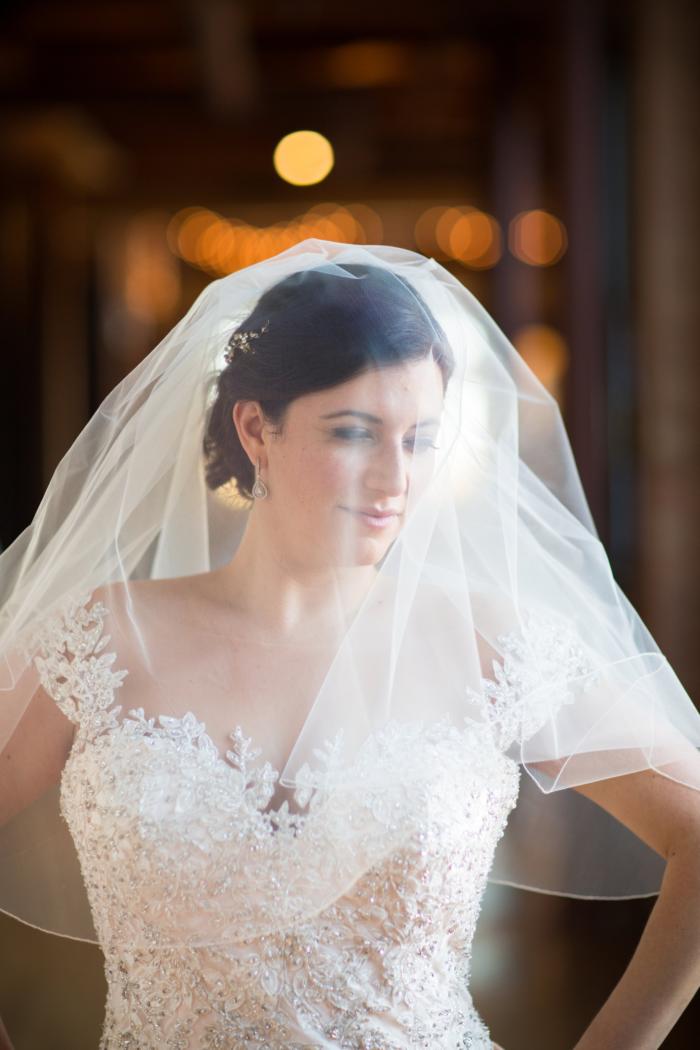 Bridal Portrait at the Bridgeport Art Center