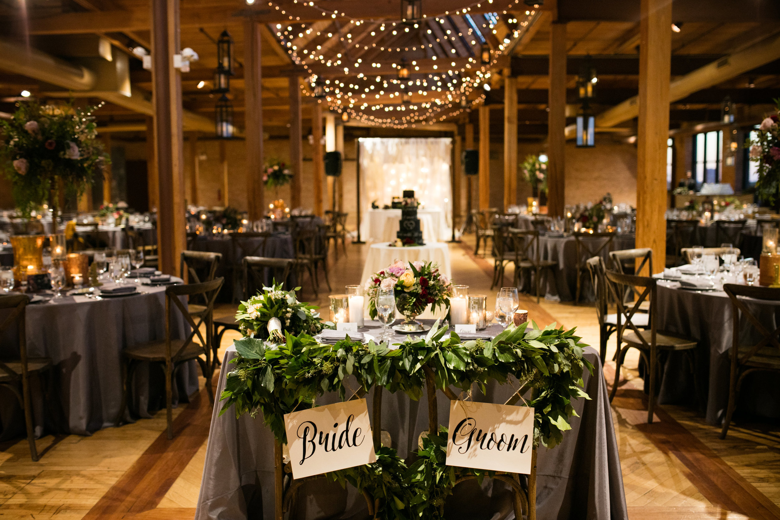 Reception designed by Clementine Custom Events