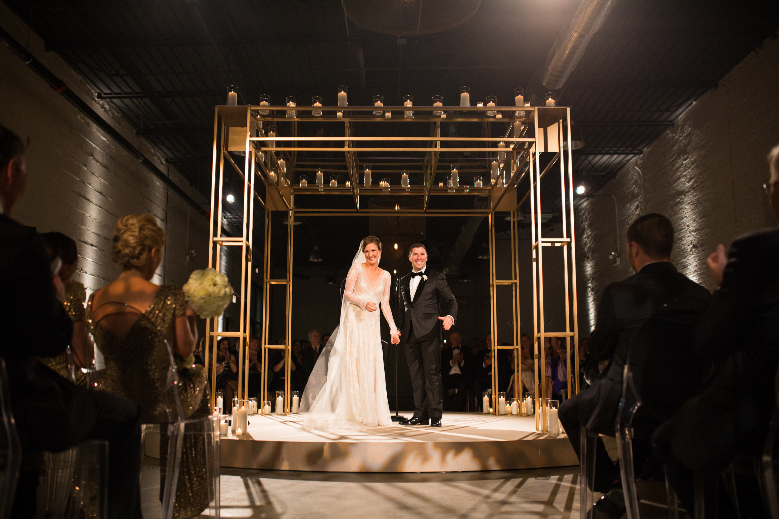 Wedding Ceremony at Revel fulton market
