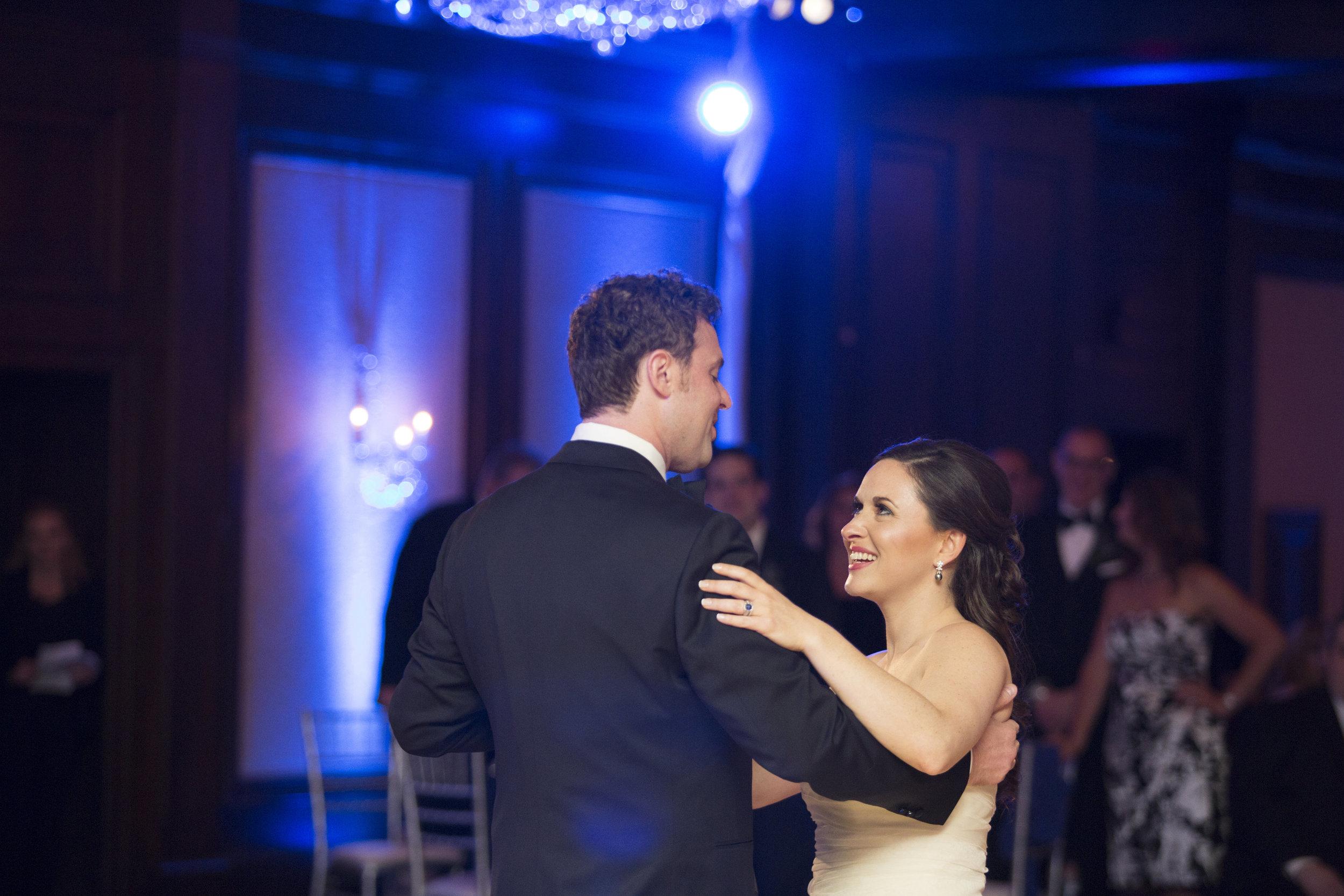 Wedding Reception at the American Club