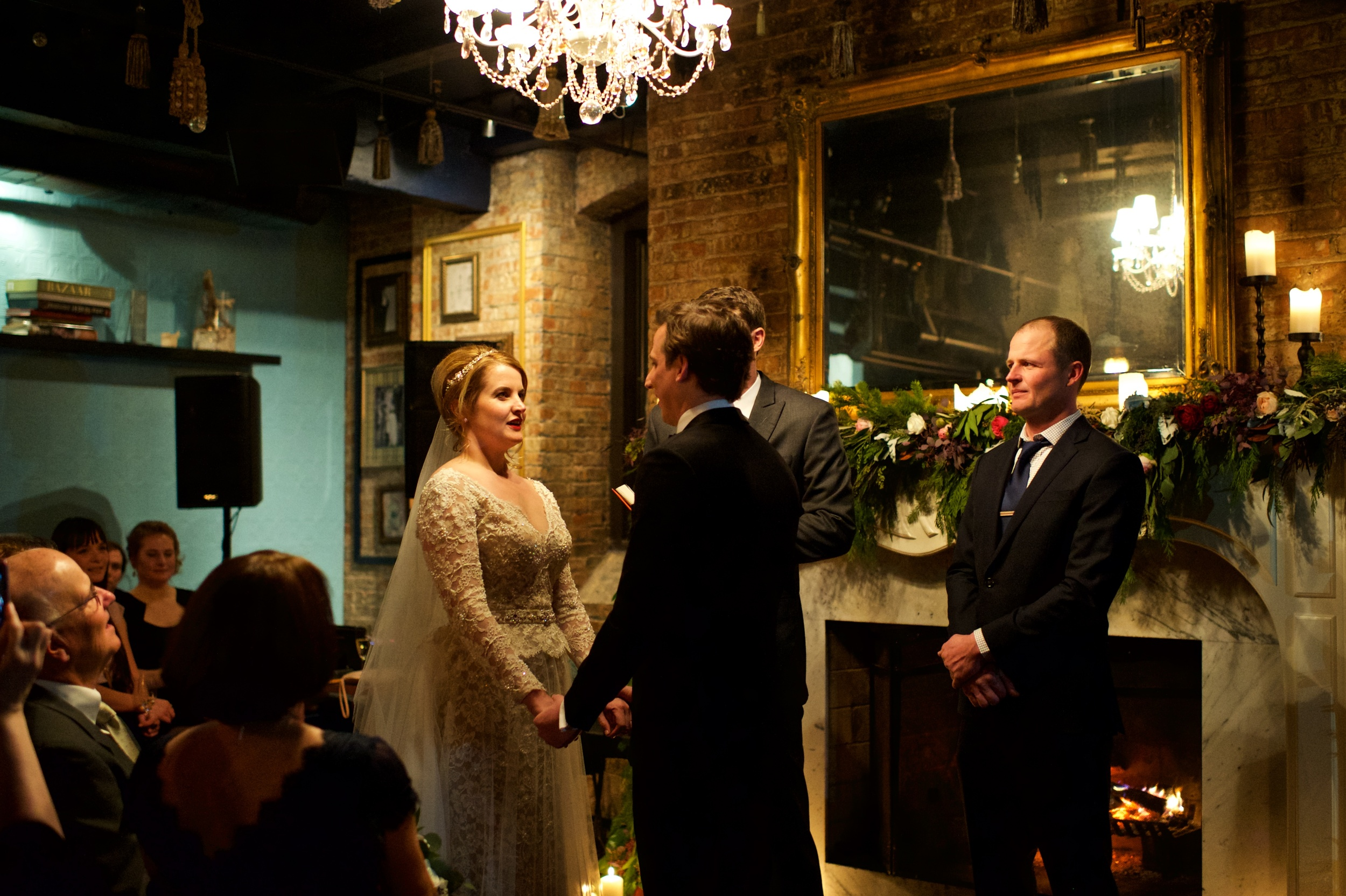 Winter Wedding Photography in Chicago