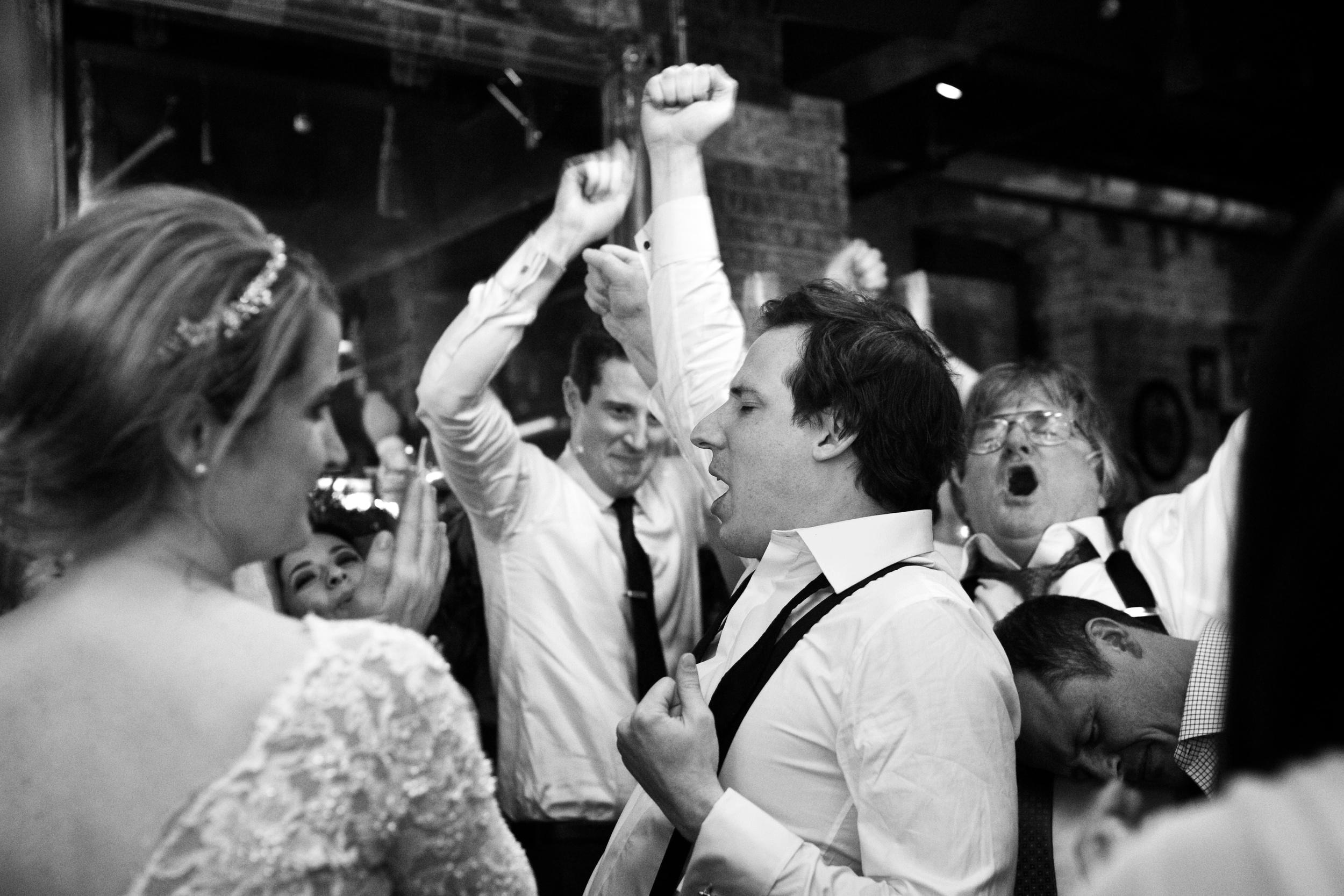 Wedding Reception by Estera Events Burlap Events