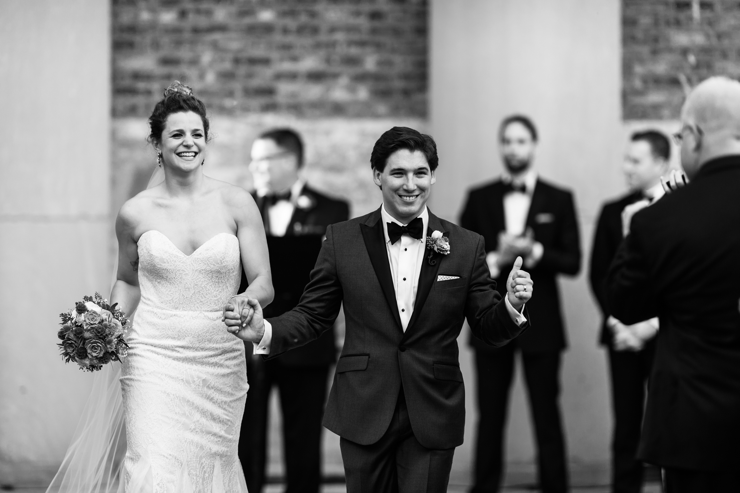 Chicago Wedding Photography at Architectural artifacts