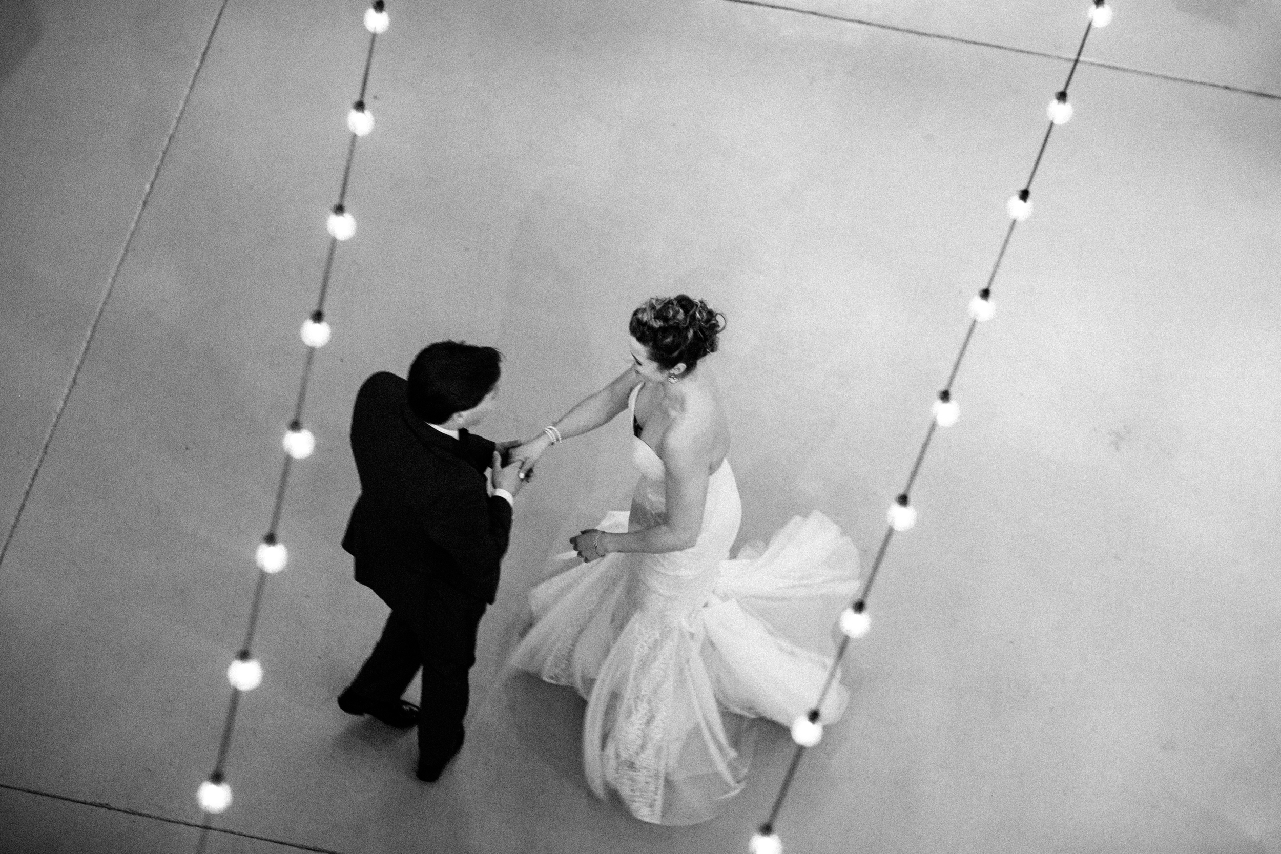 Jack caught this great overhead shot of these two during their first dance at the wedding.