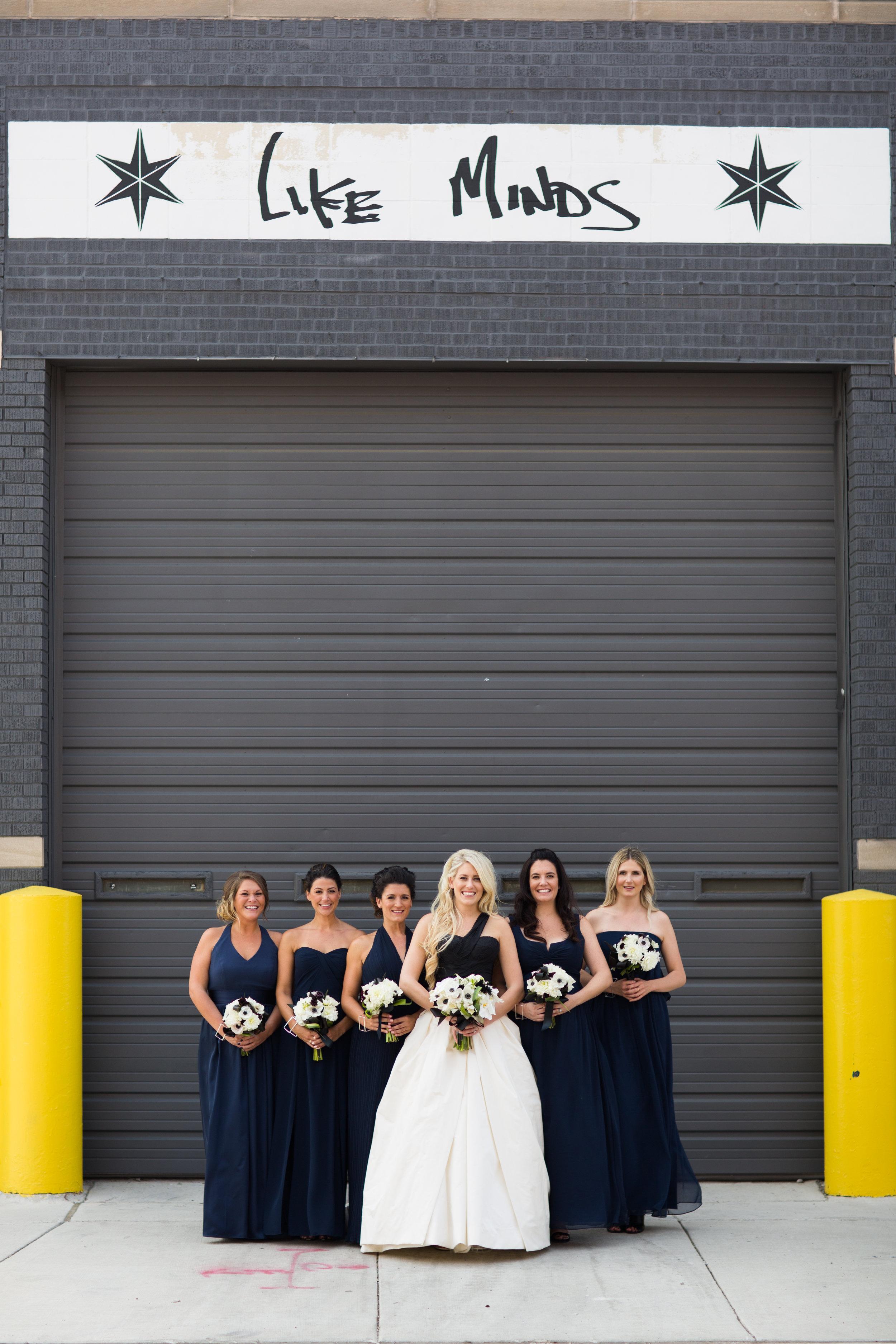 Bridesmaids photos in chicago