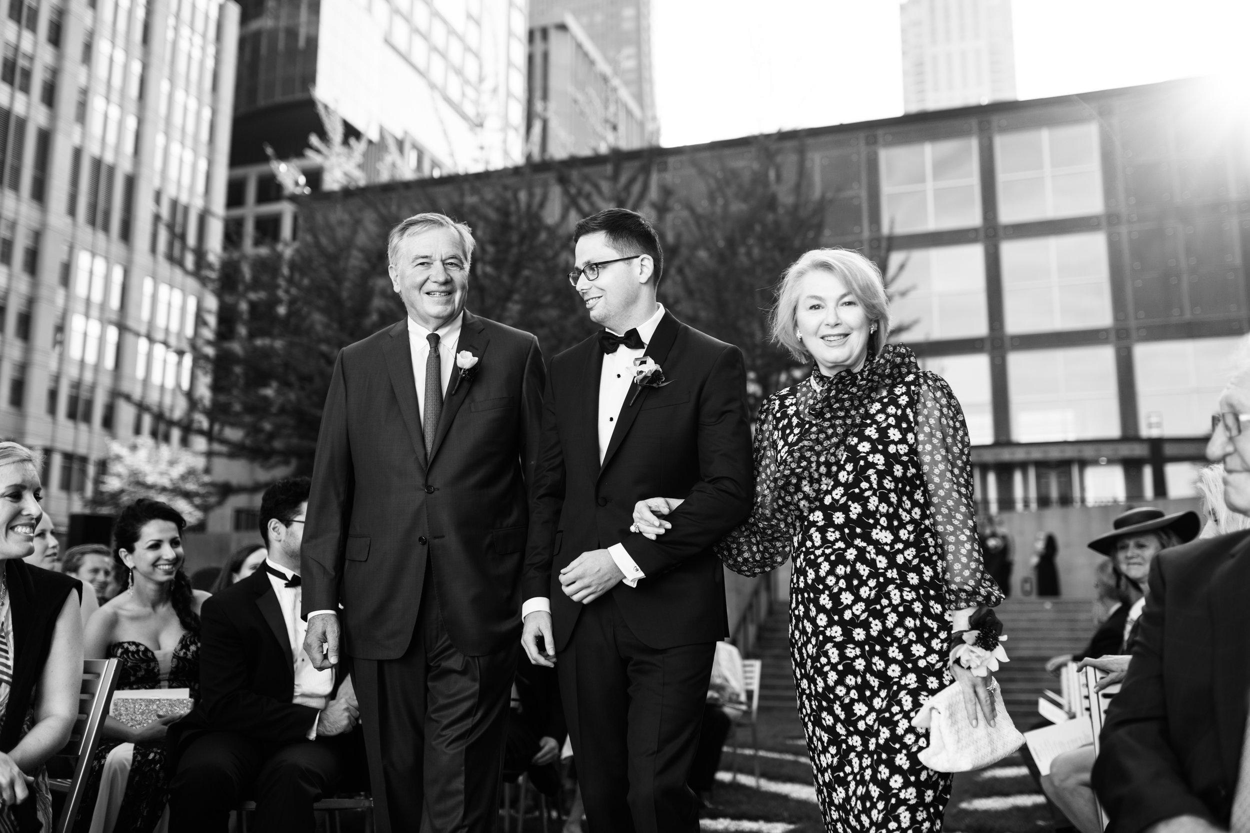 Wedding Ceremony at MCA Chicago