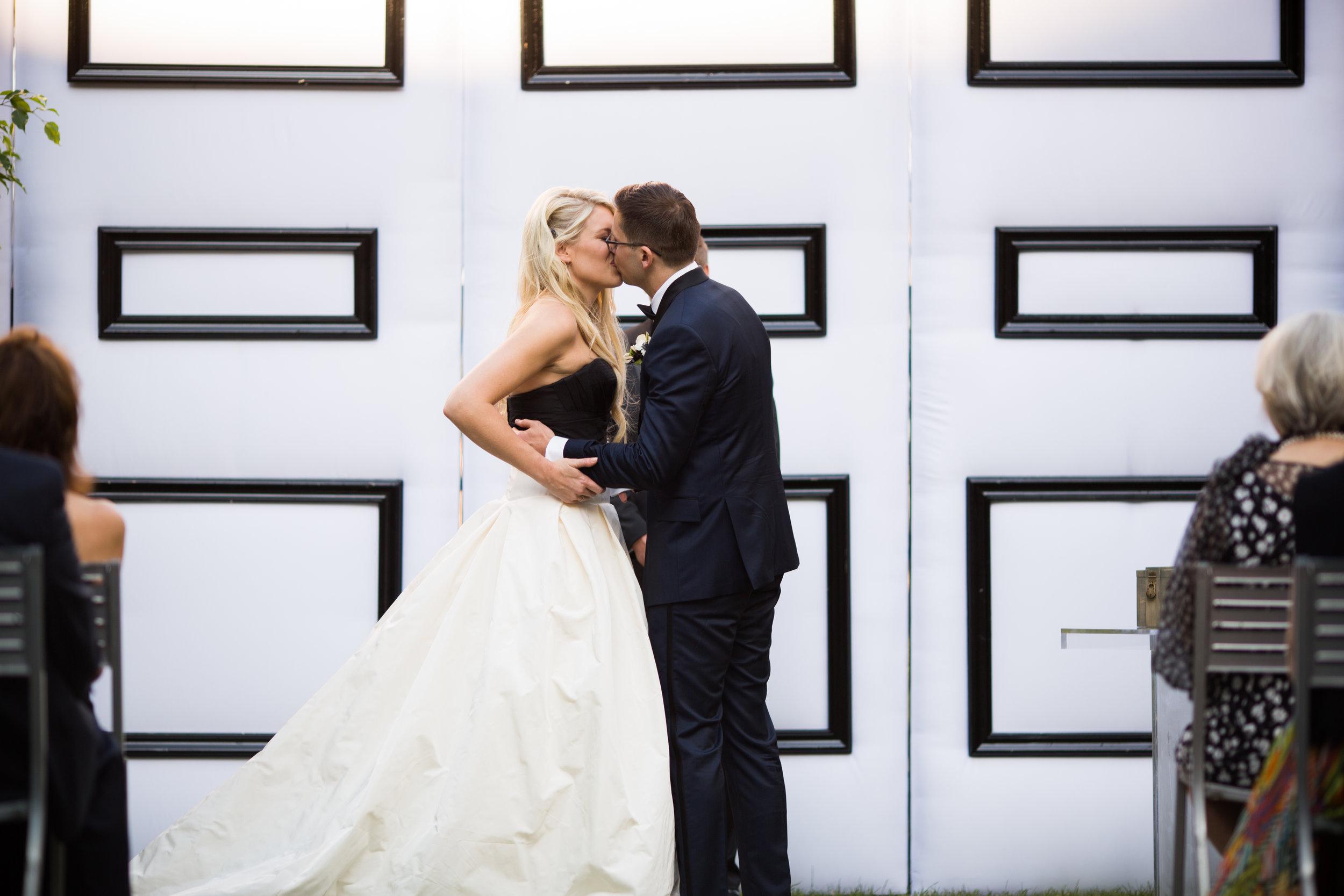 Chicago wedding ceremony at MCA