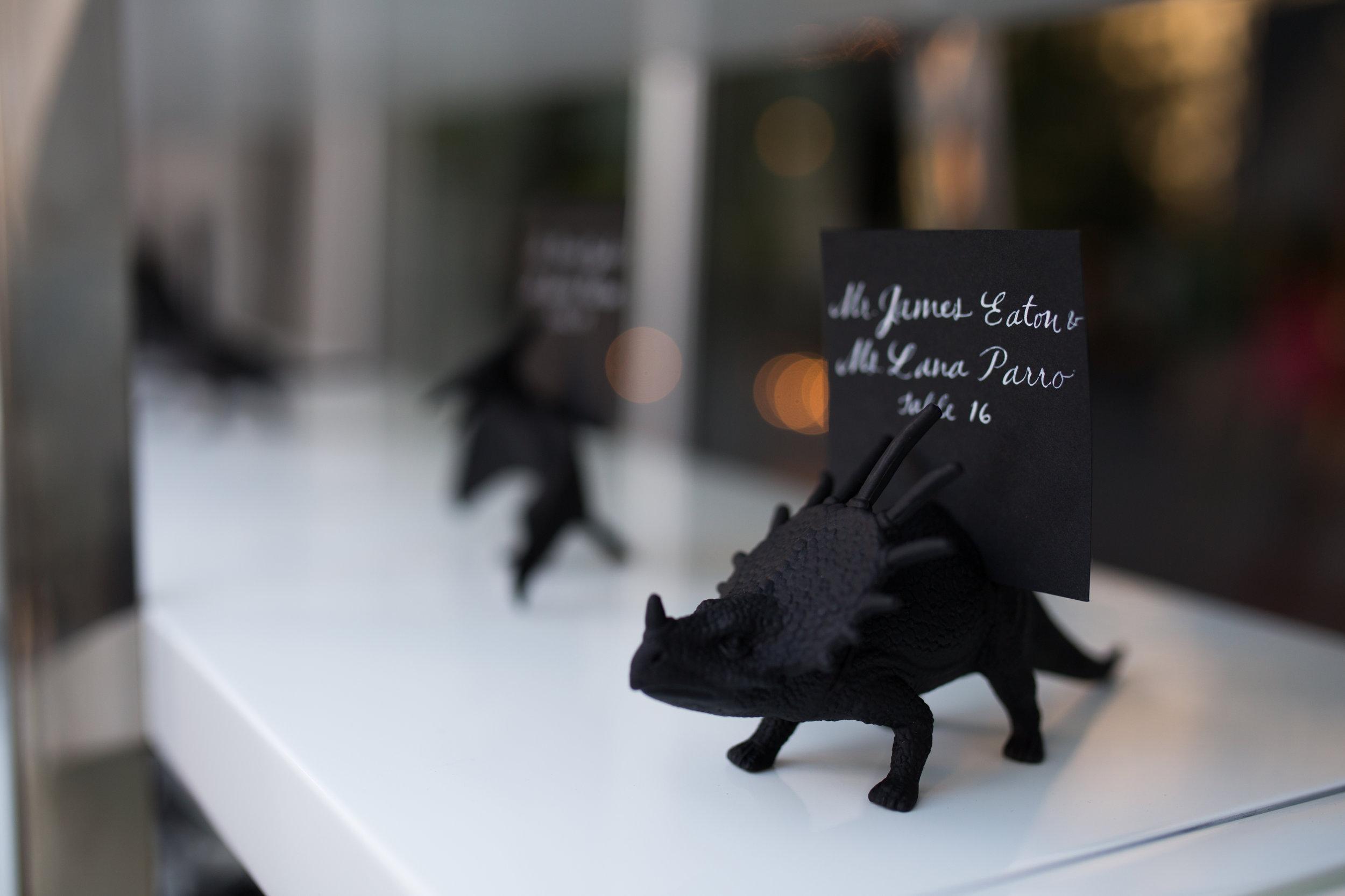 wedding details from MCA, Chicago