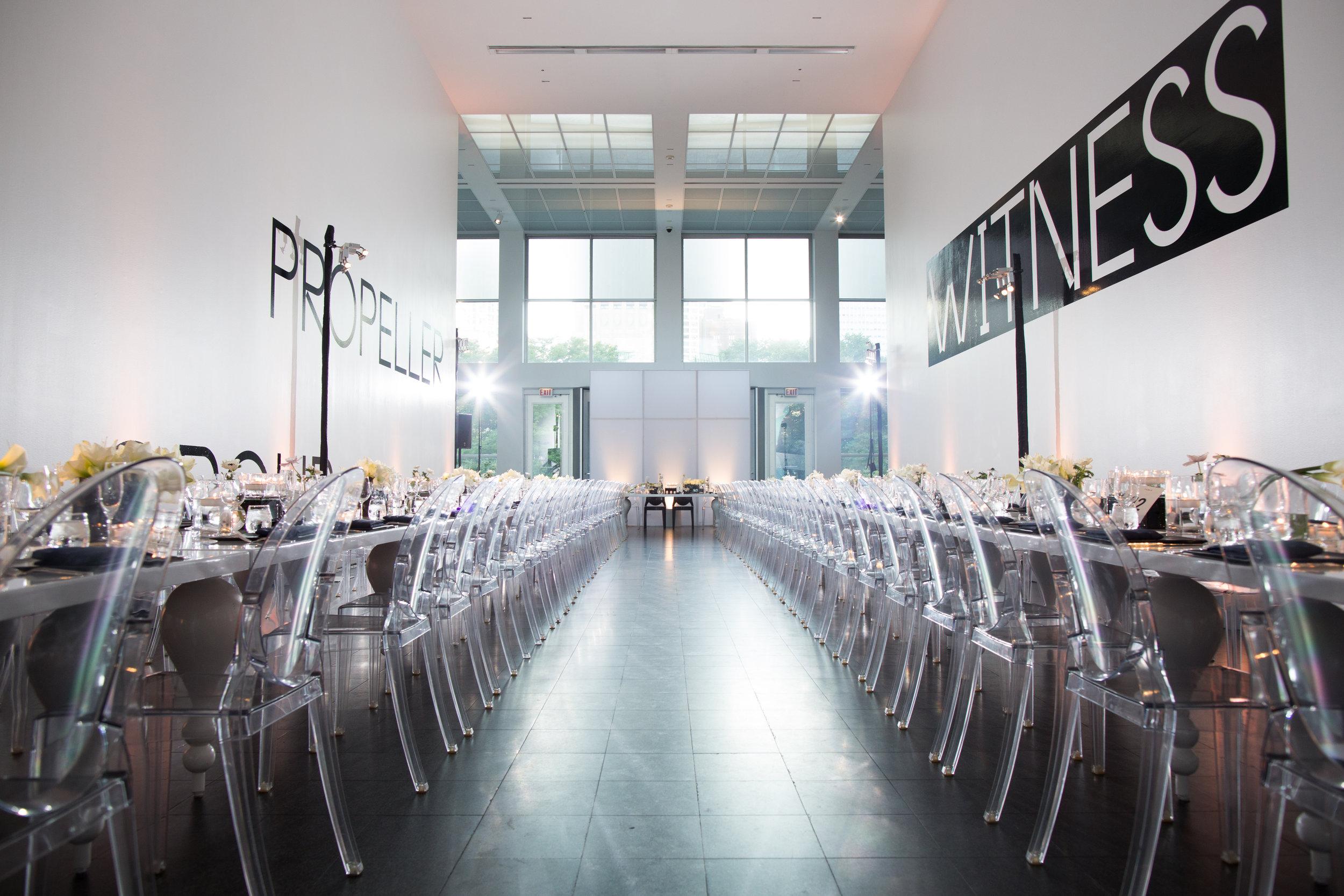 Wedding Reception at MCA, Chicago