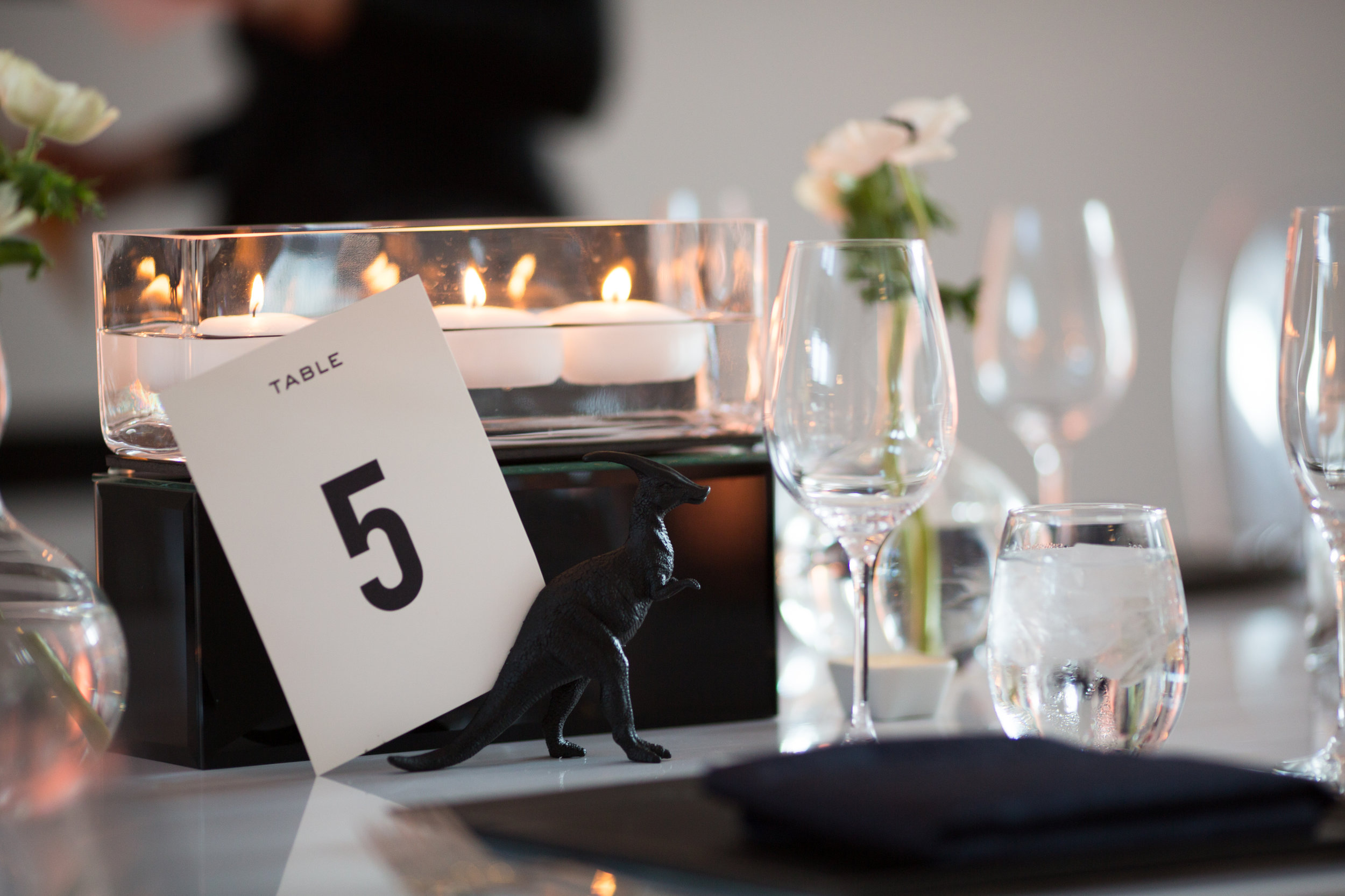 Wedding details at MCA, Chicago