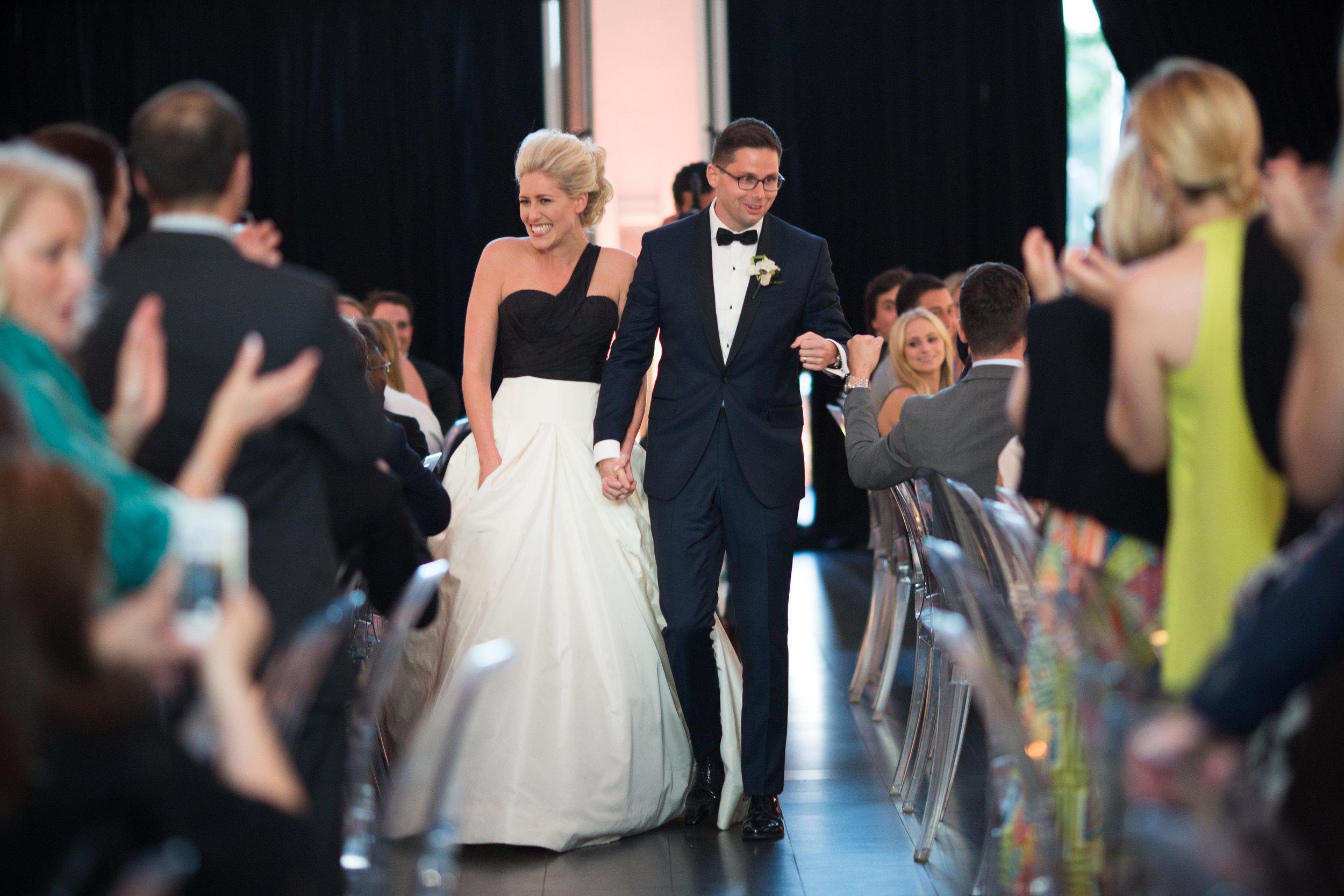 Wedding Reception at MCA Chicago in Summer