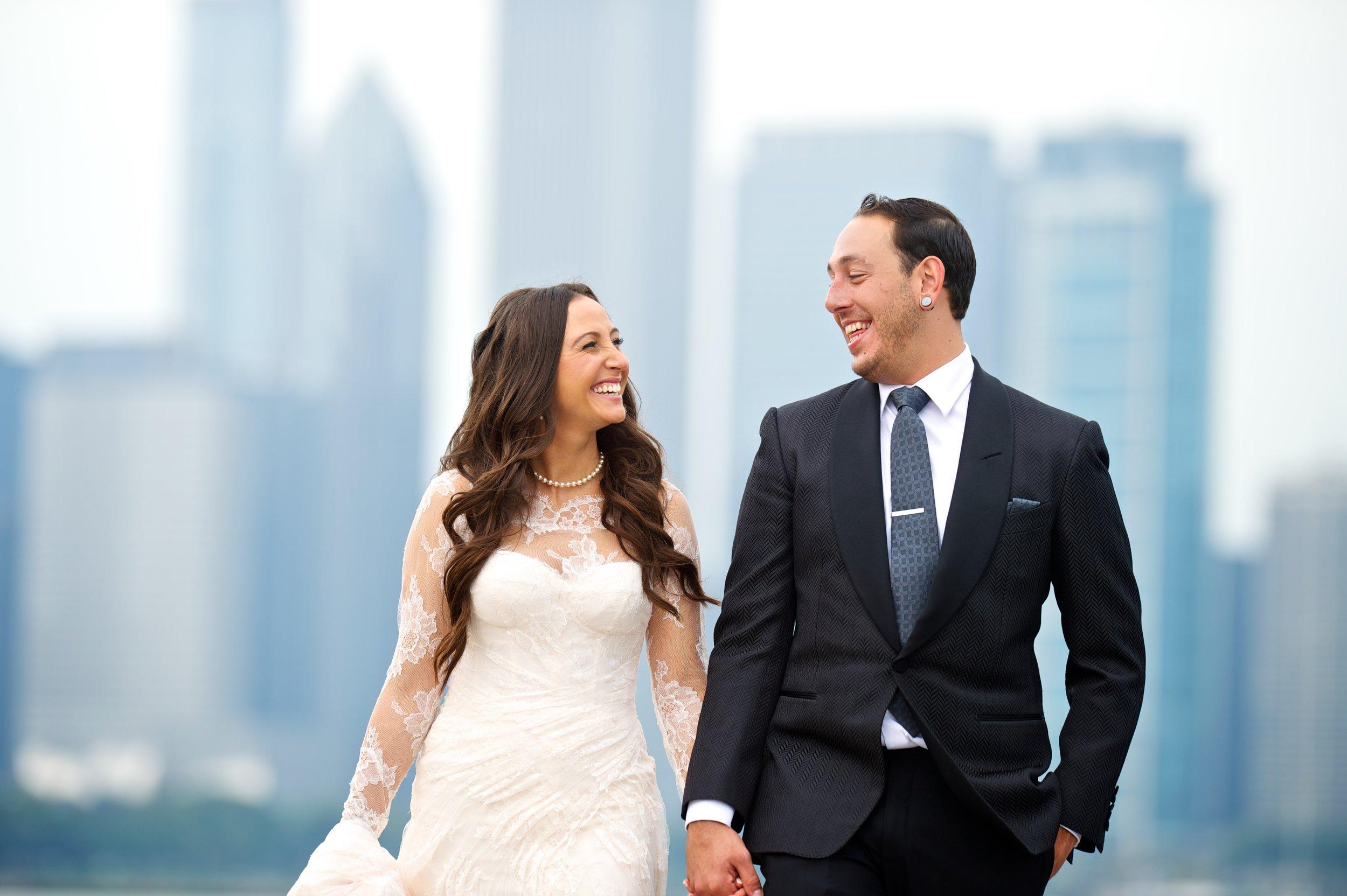skyline wedding photography