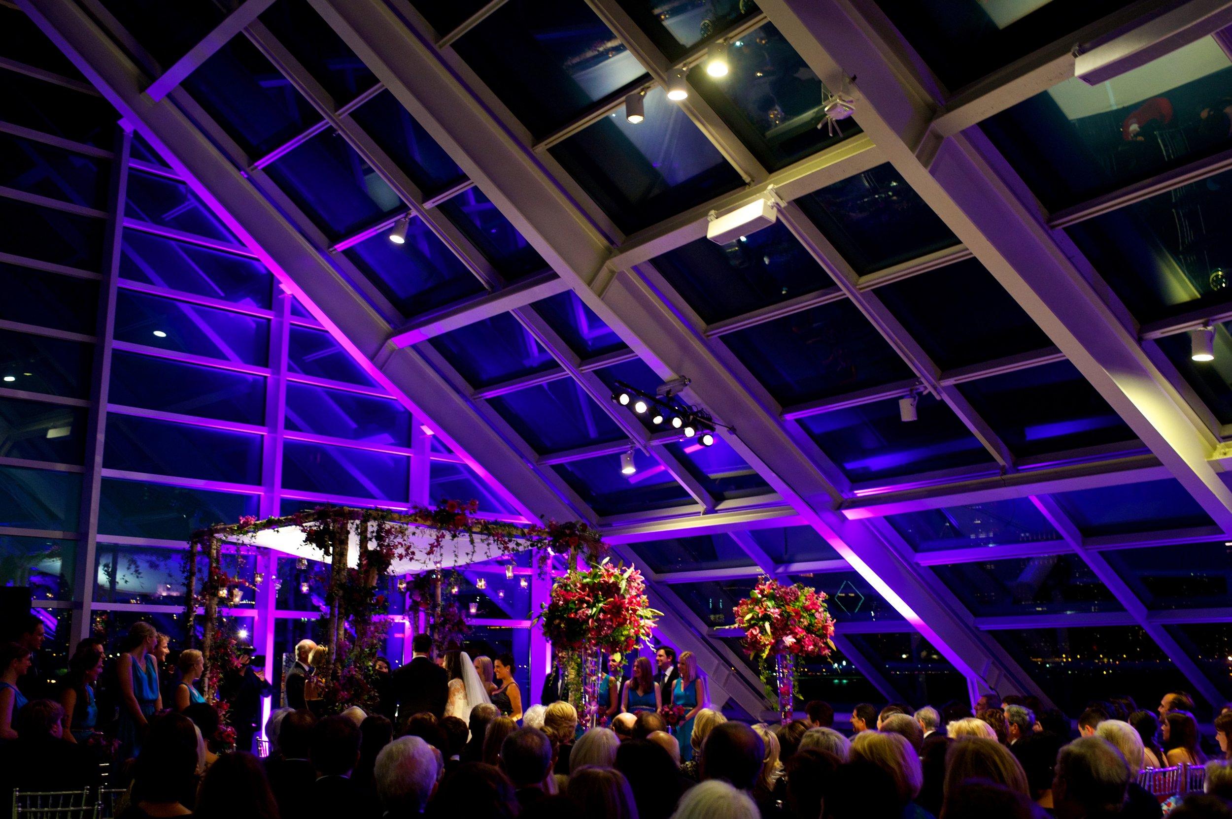 Ceremony at the Adler Planetarium