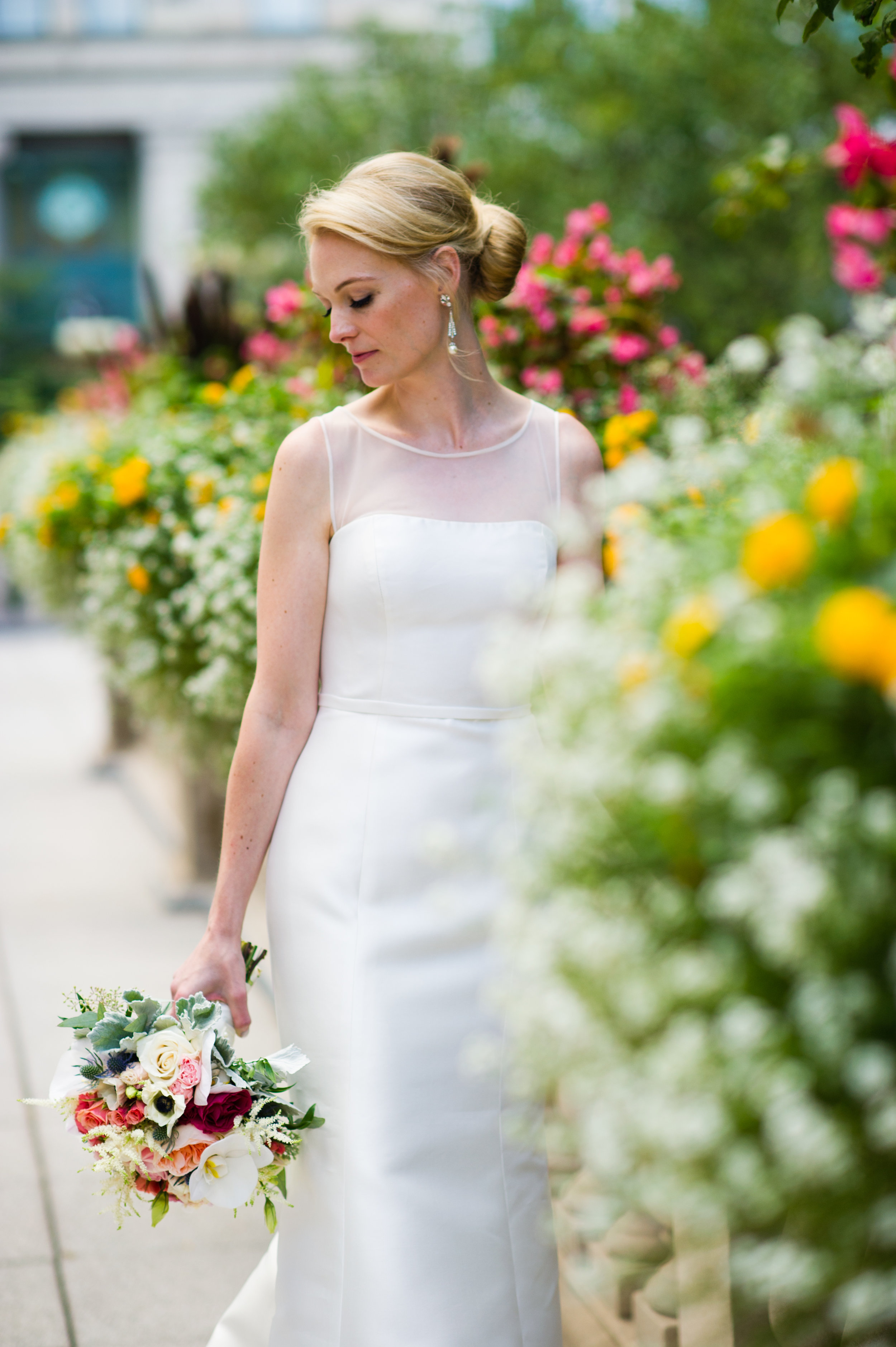 Bridal Portraits in Chicago summer