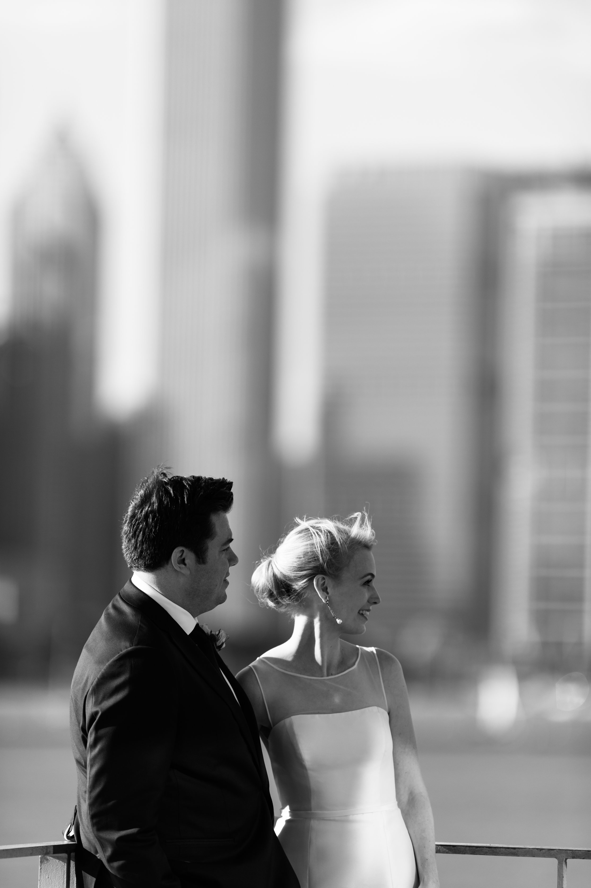 adler planetarium wedding photos