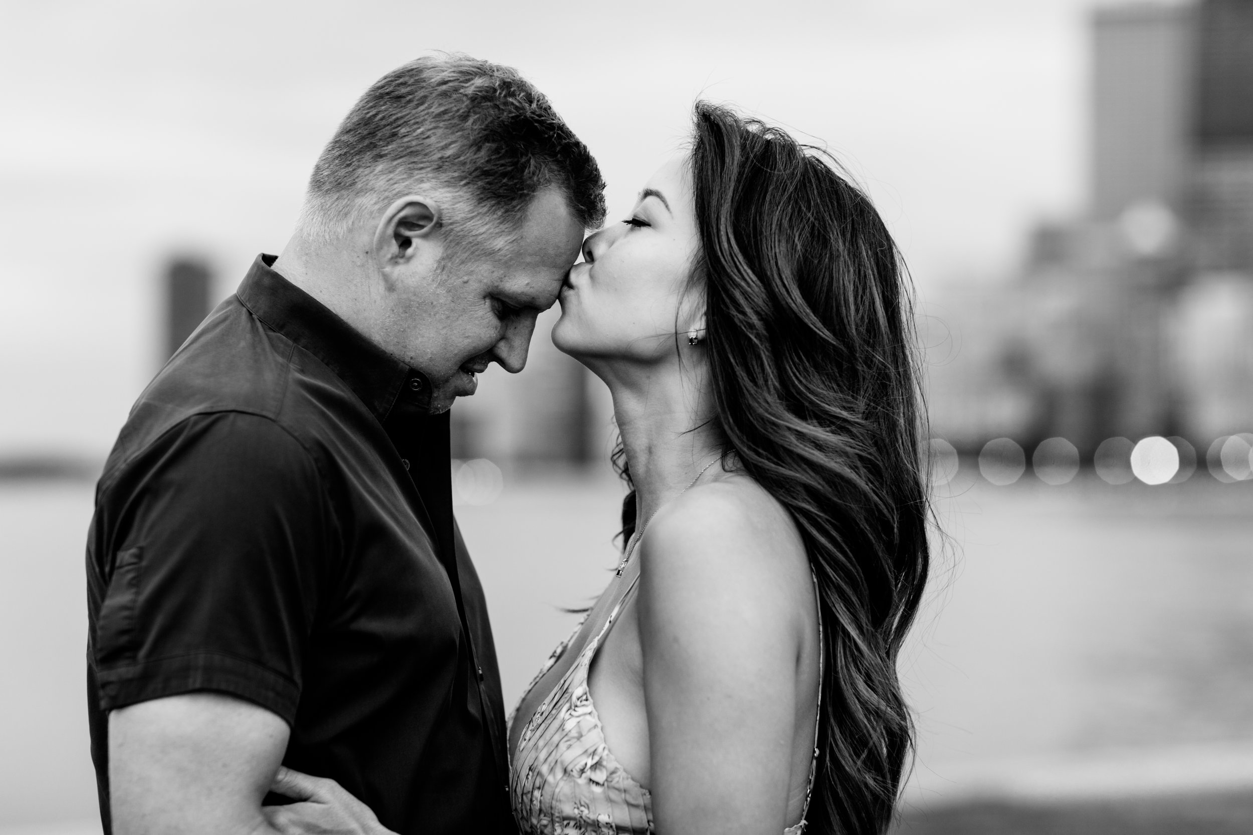 Chicago engagement session at the lakefront
