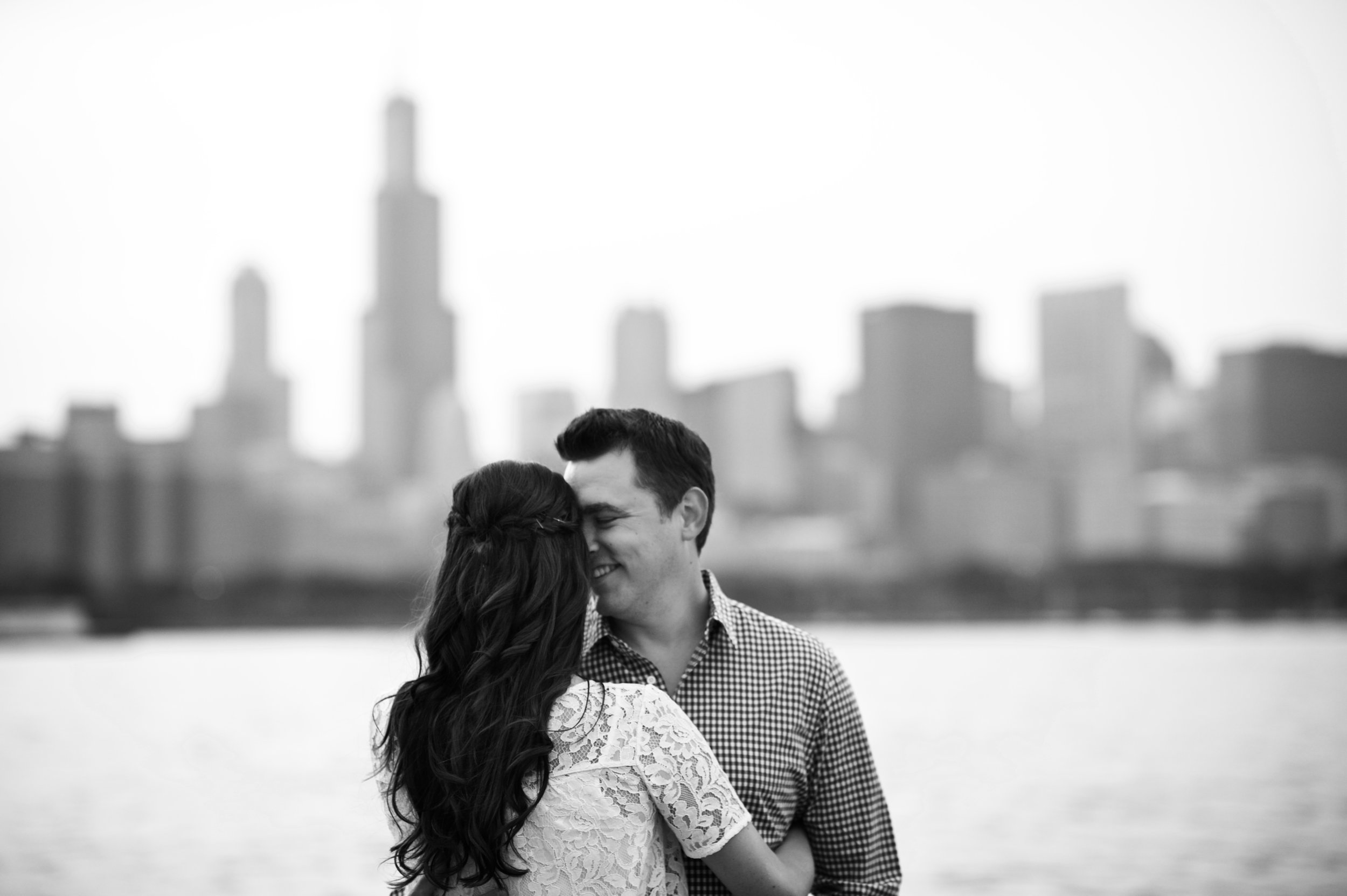 Lakefront engagement photos