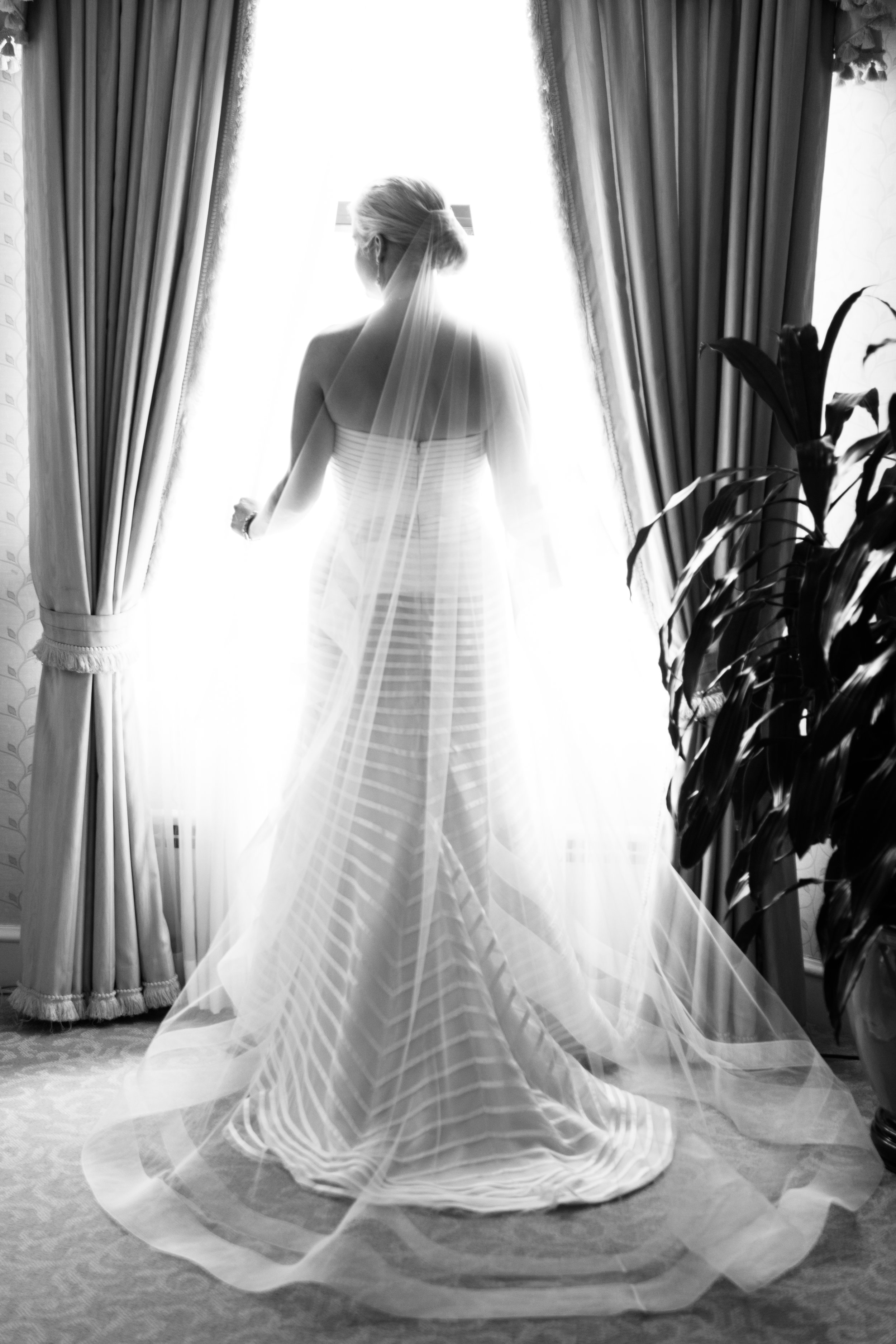 Bride at Drake Hotel Chicago