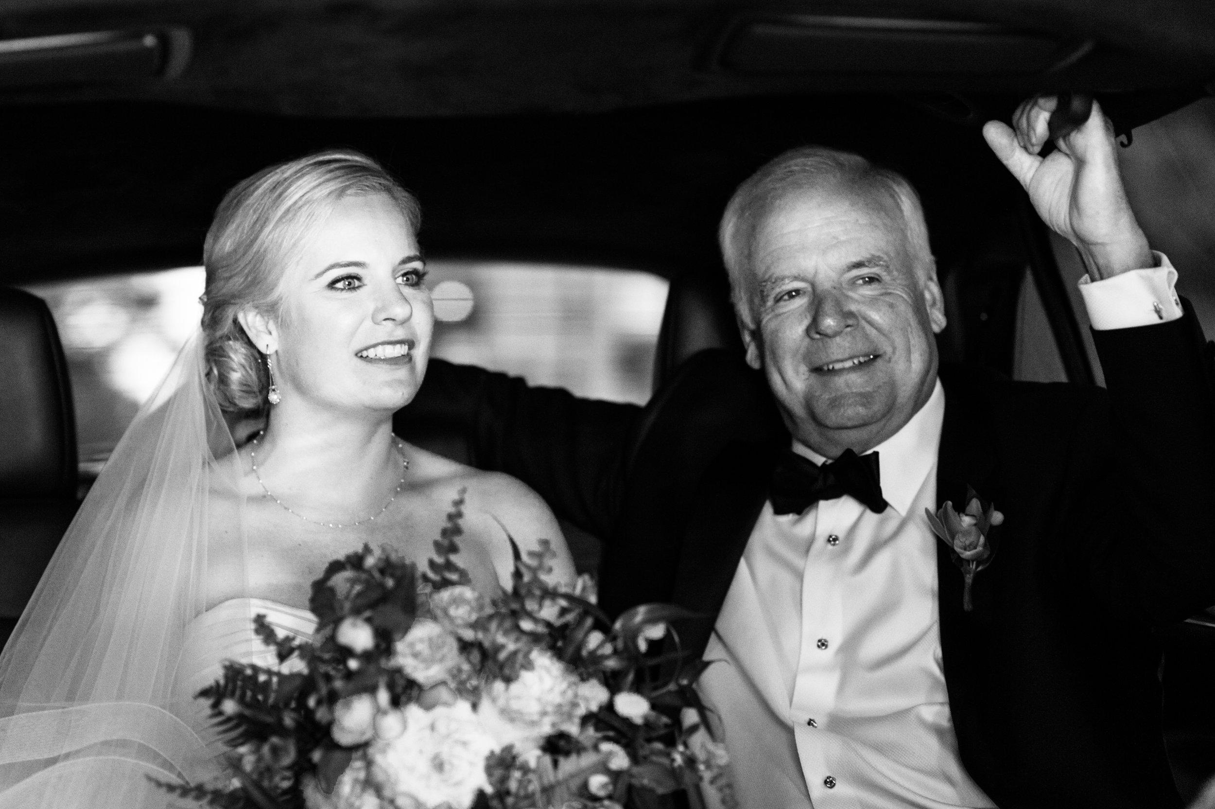 Bride and dad chicago weddings