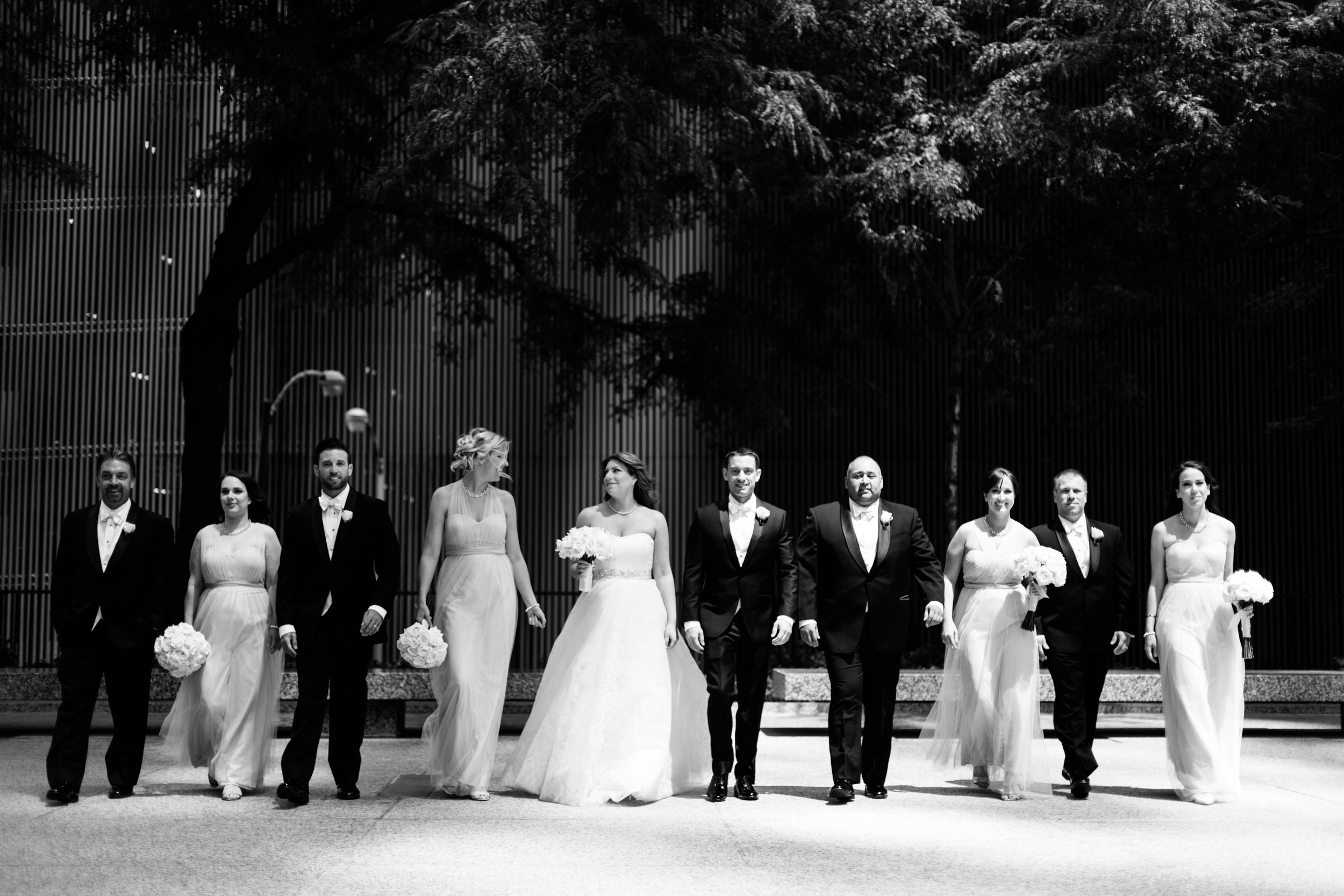 Bridal Party at the Langham Chicago