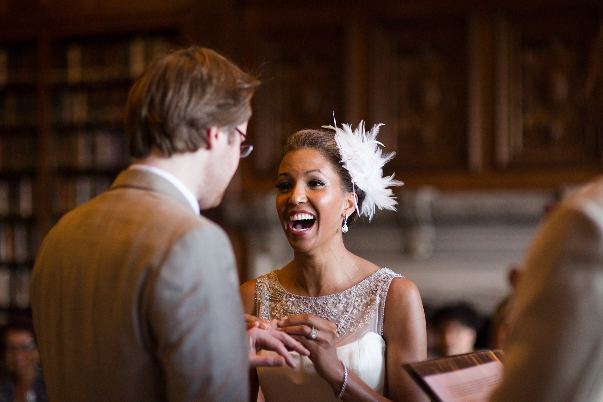 Documentary wedding photography at University Club of Chicago