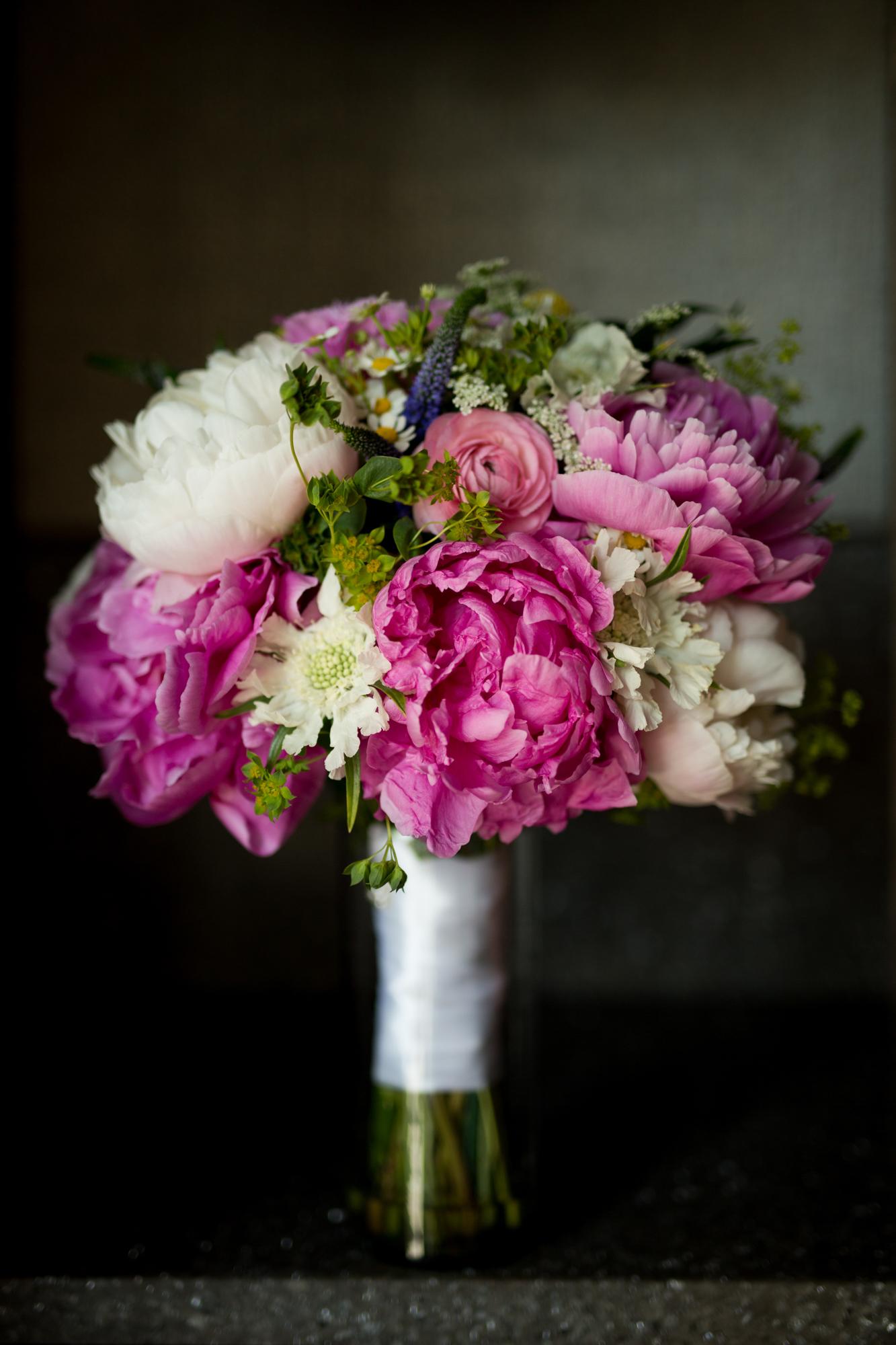 Bride's bouquet at Dana Hotel Chicago