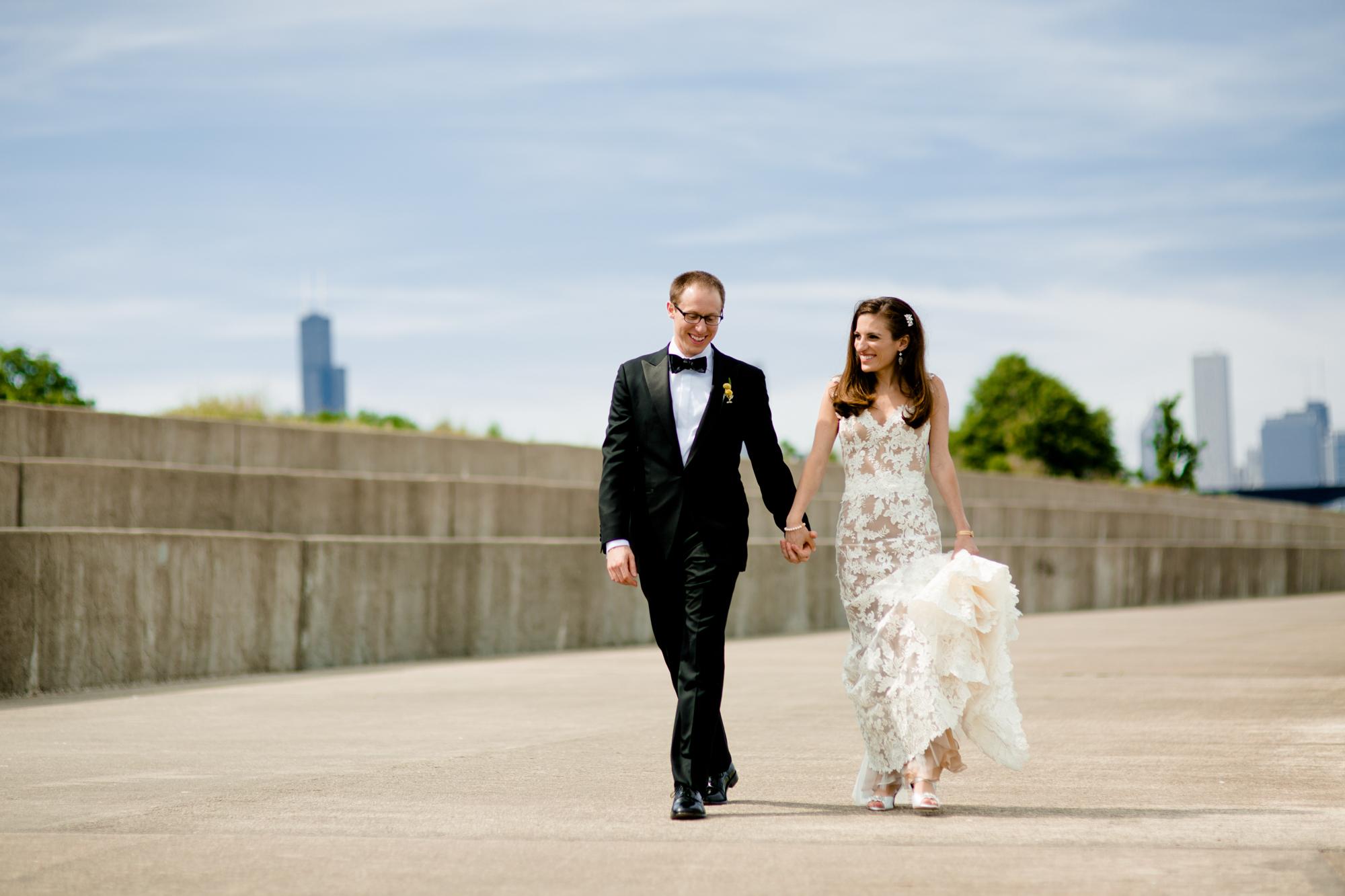 Bridgeport Art Center Skyline Loft Wedding
