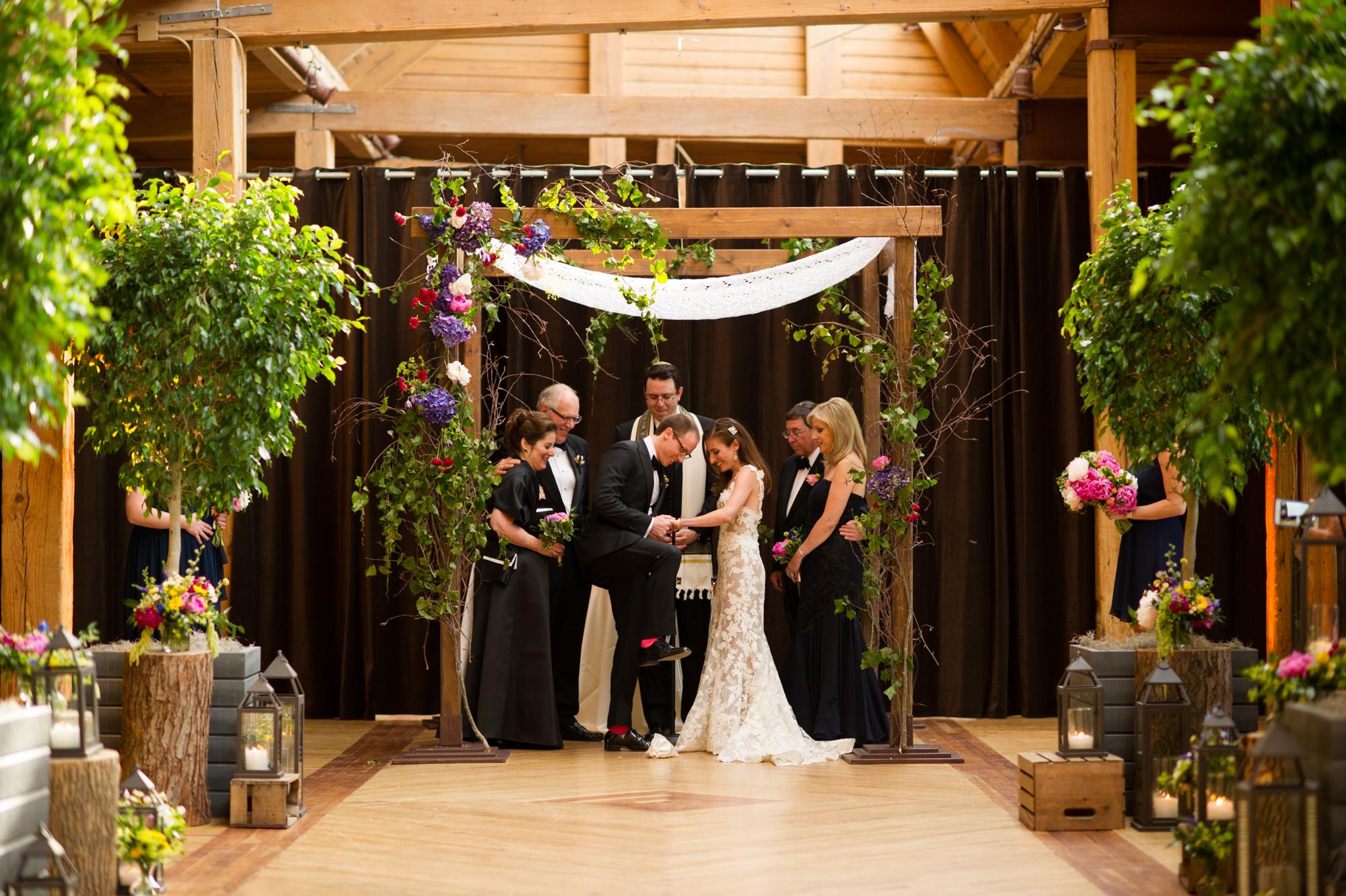 Wedding at Bridgeport Art Center in Chicago