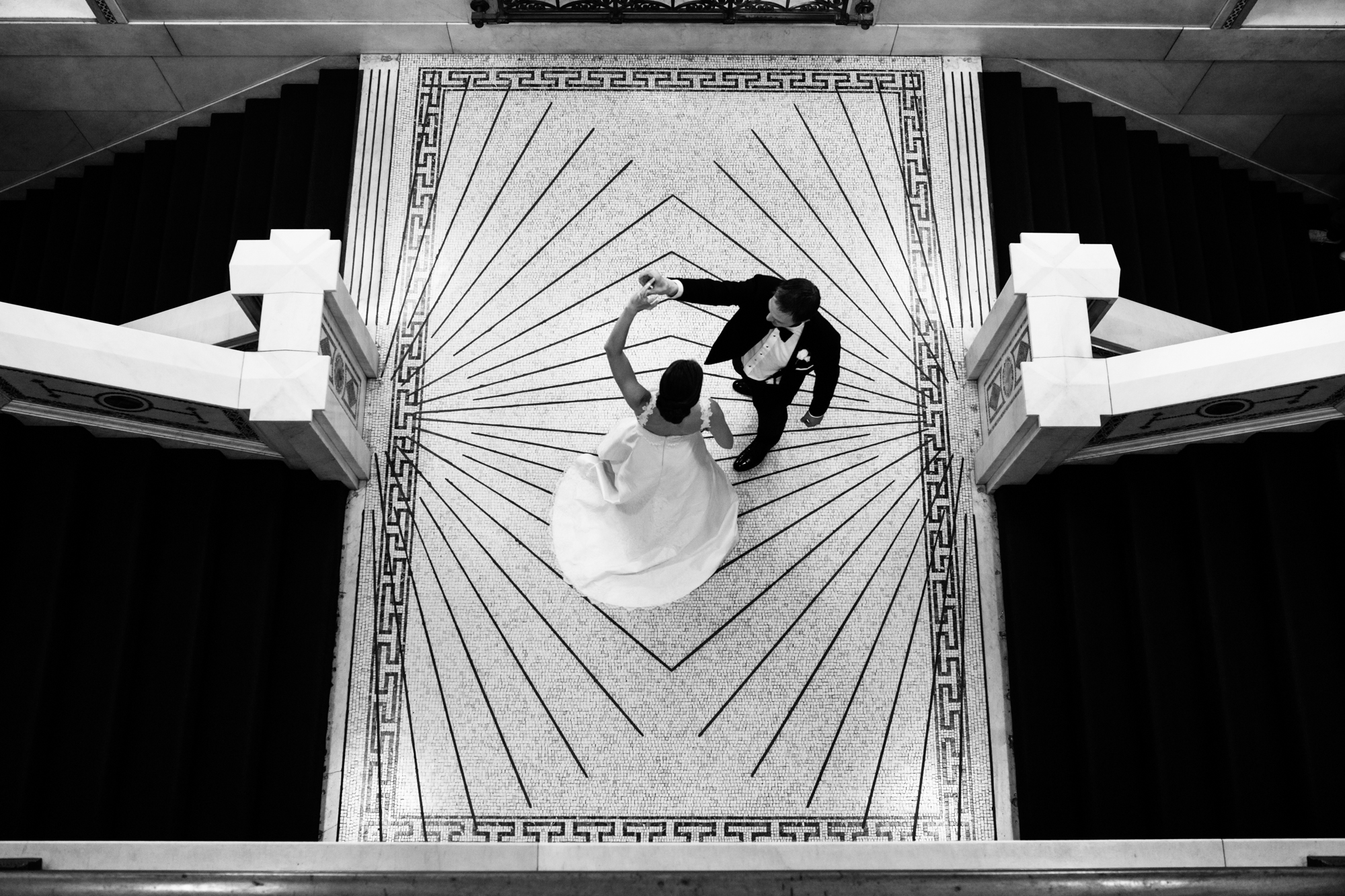 Fine Art Wedding Photography at Chicago Cultural Center