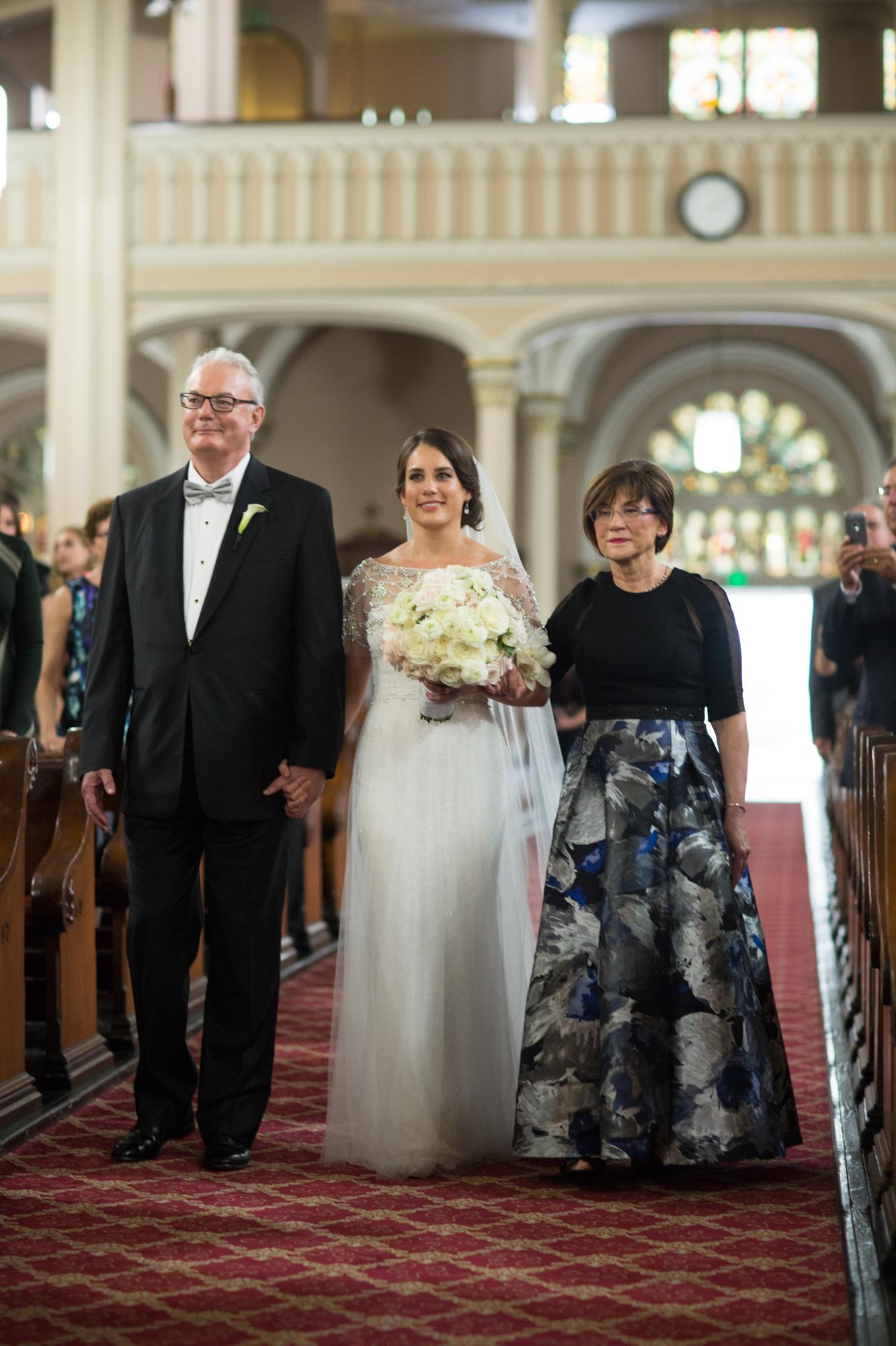 Romantic Chicago Cultural Center Wedding
