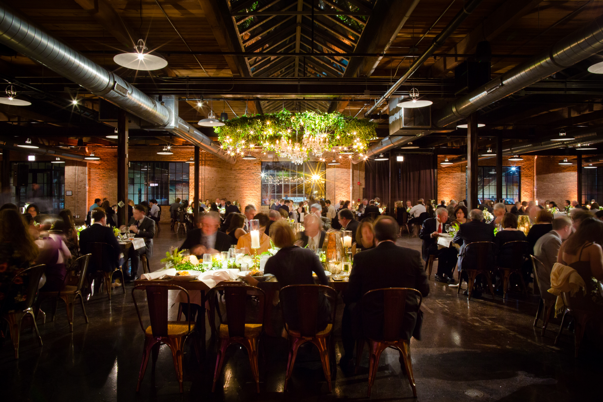 Wedding reception at Morgan Manufacturing