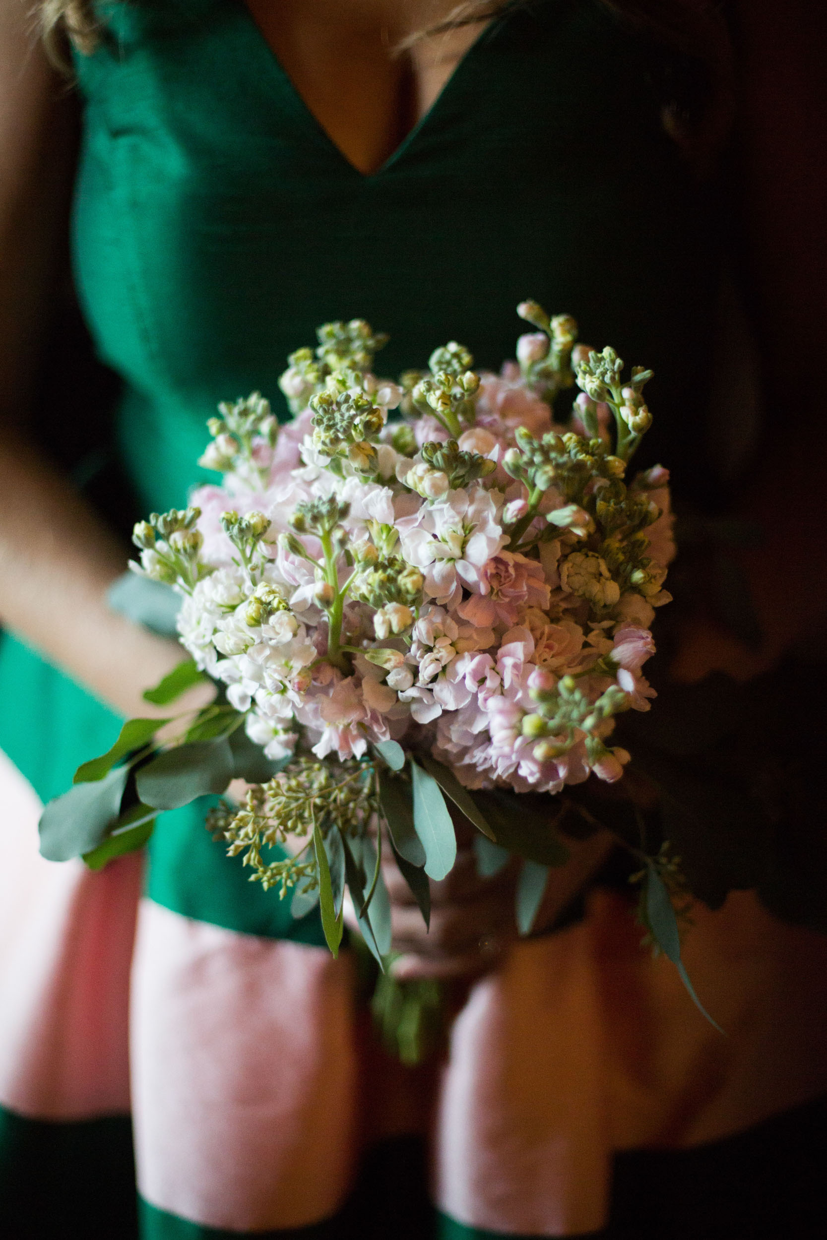 Bridesmaids bouquet for wedding at the Chicago Athletic Association
